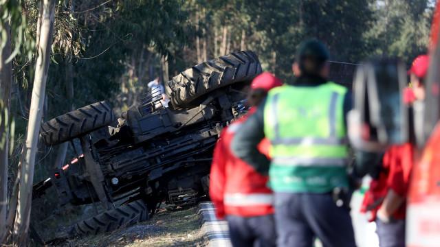 Homem de 71 anos morre em acidente com trator em Aljubarrota
