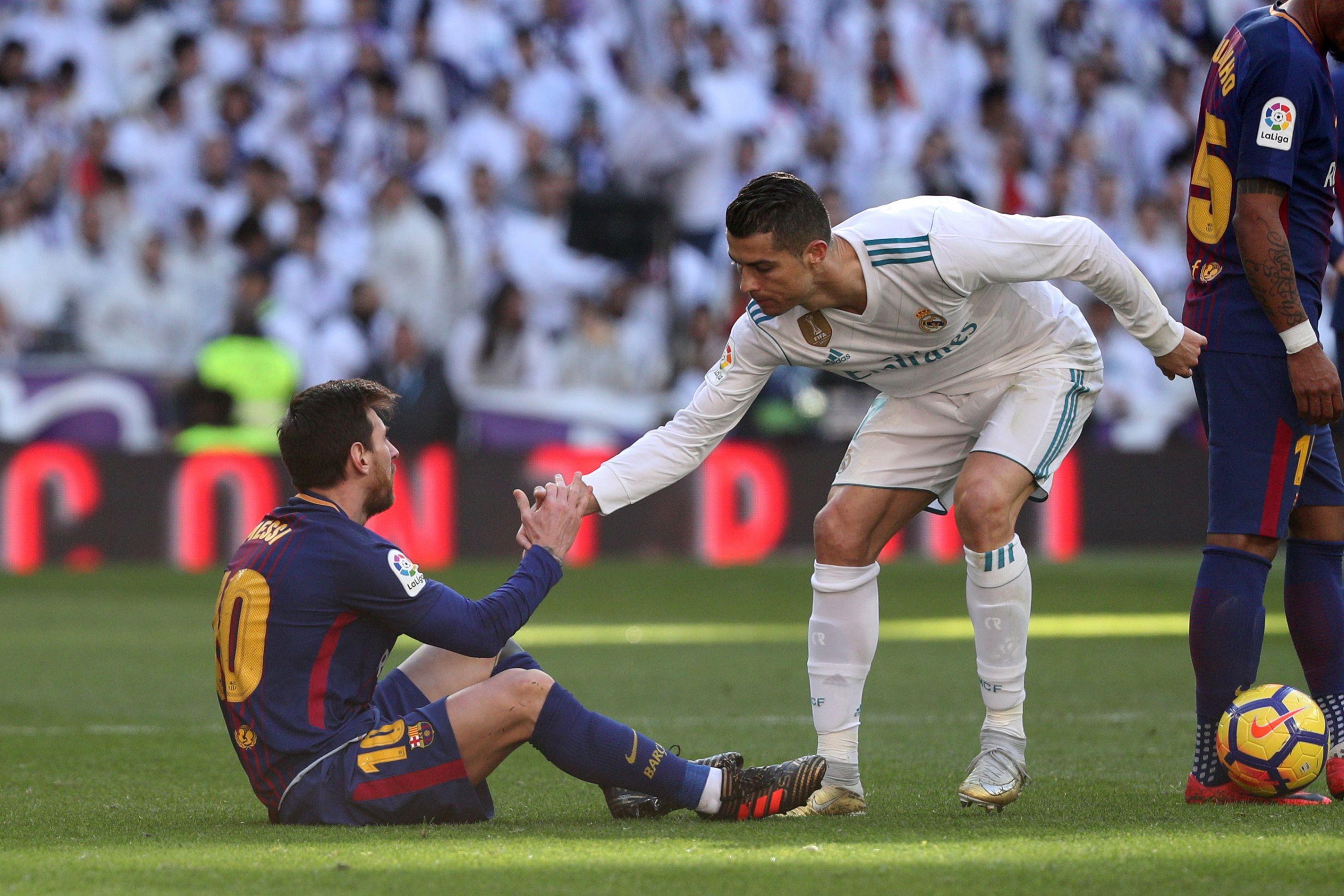 CR7 regressa ao Bernabéu para assistir ao River-Boca ao lado de Messi