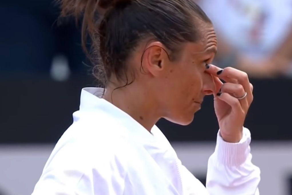 Adeus ao ténis: A despedida em lágrimas de Roberta Vinci