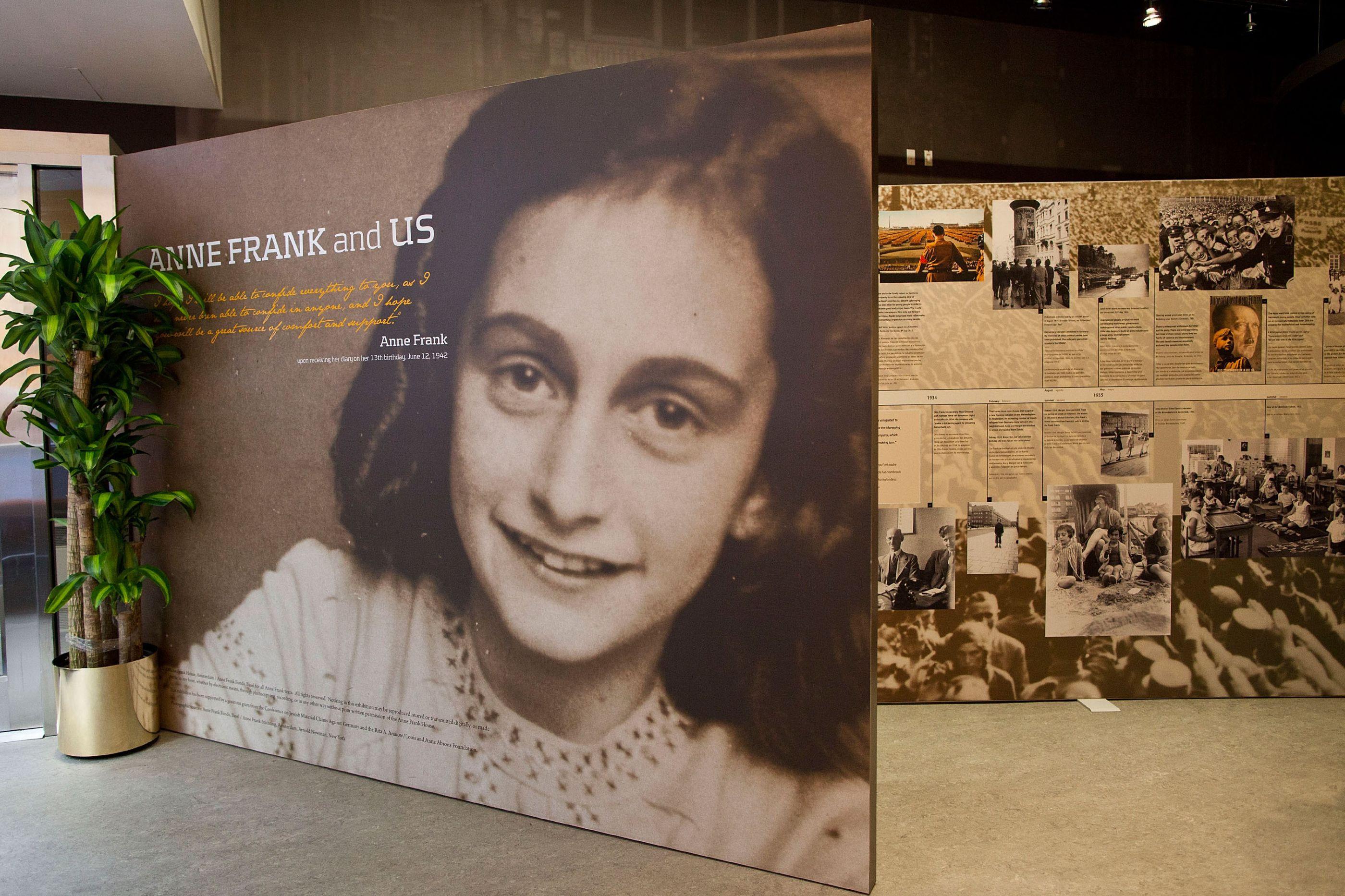 """As linhas escondidas do diário de Anne Frank. """"Não se faz antes de casar"""""""