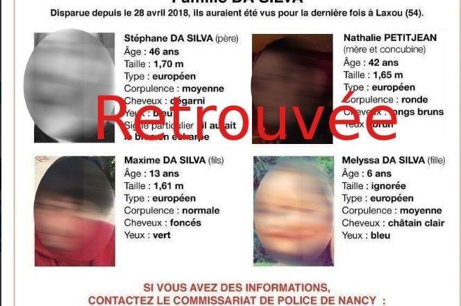 Já foi encontrada a família que estava desaparecida em França
