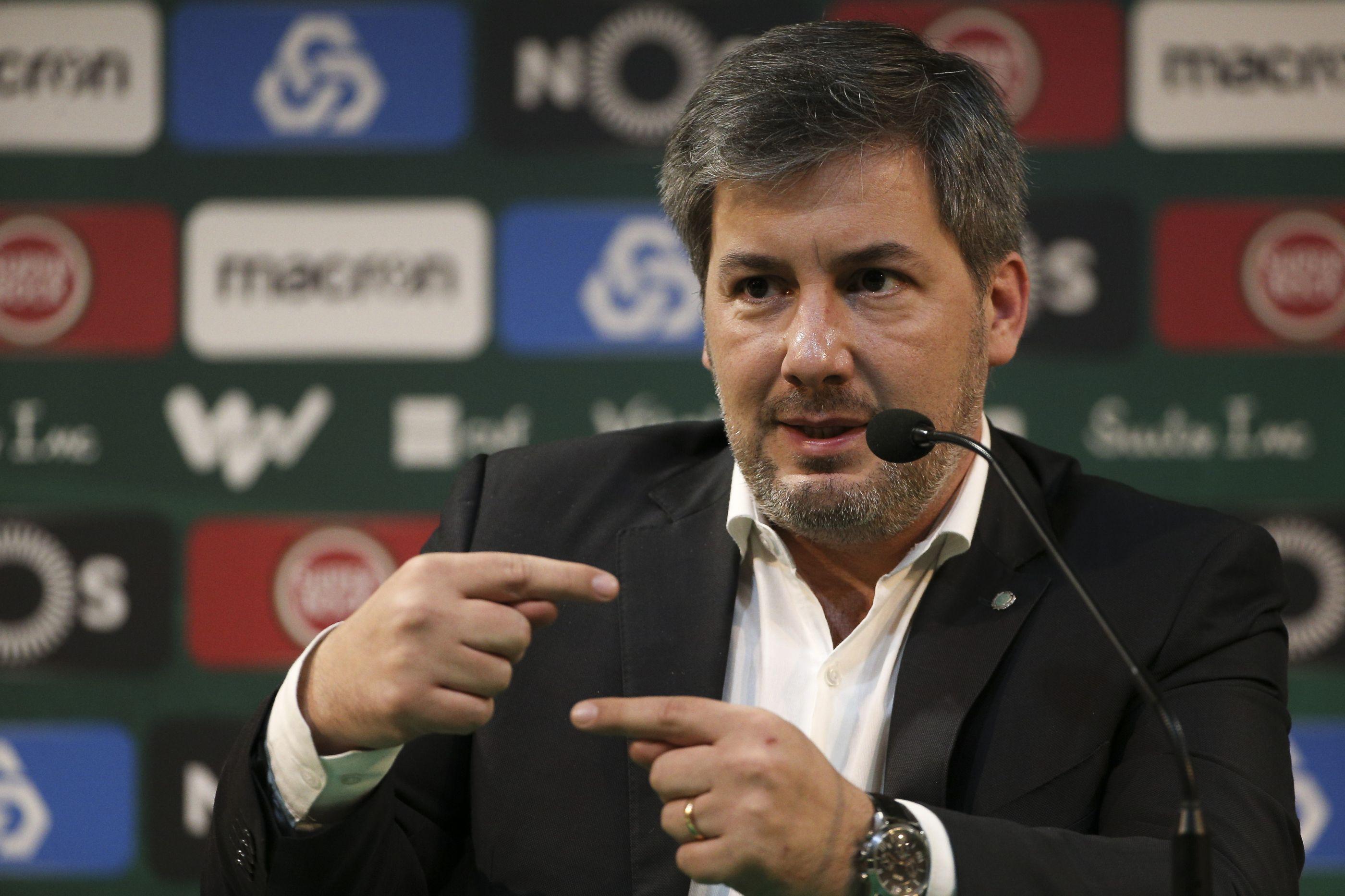 Bruno de Carvalho indiciado por 56 crimes