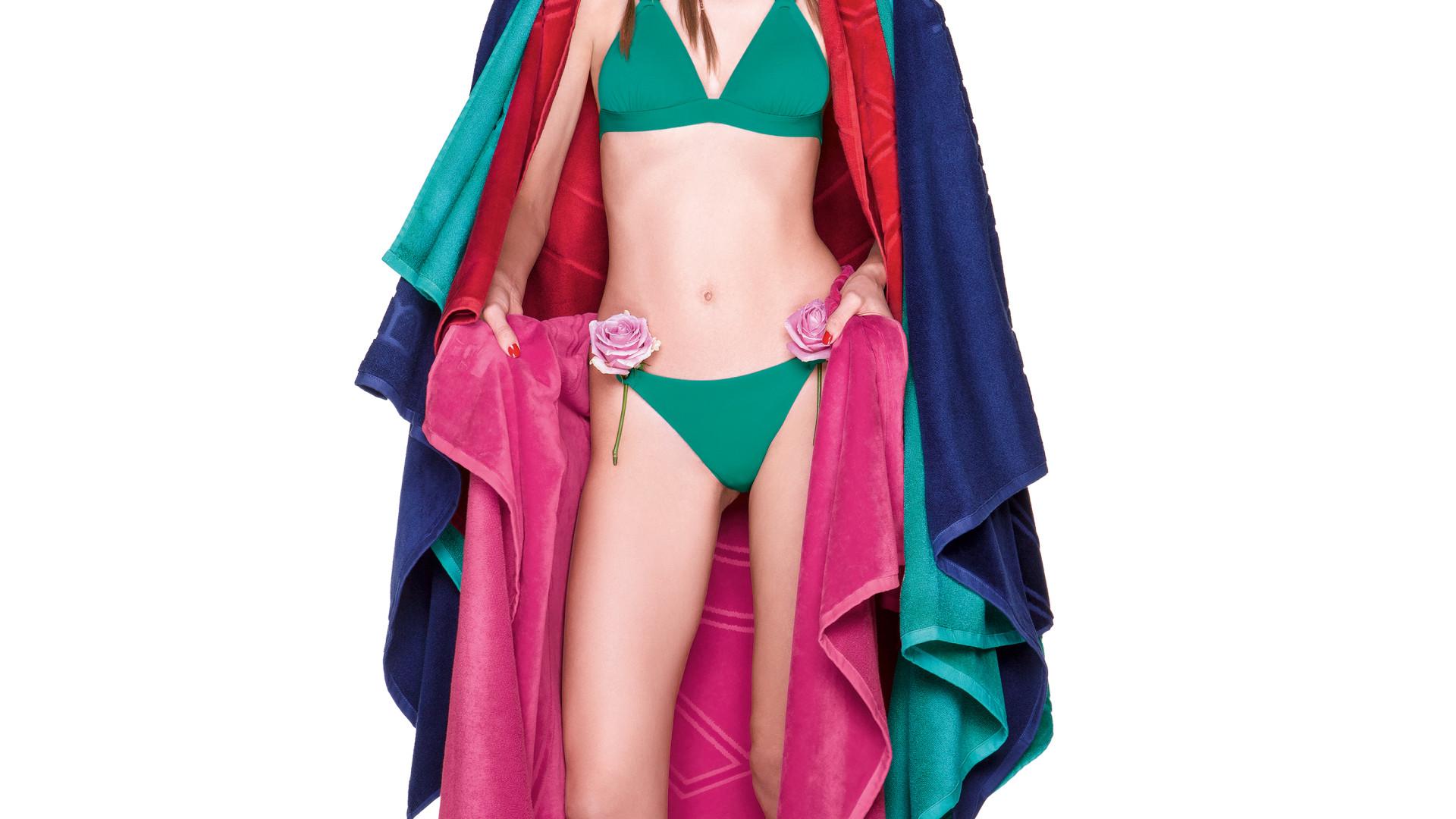 161dc4d705f Benetton lança fatos de banho feitos a partir de fibras orgânicas