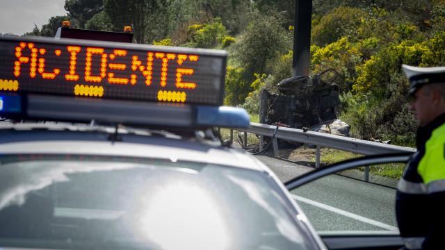 Despiste de viatura em Pinhel causou um morto e um ferido