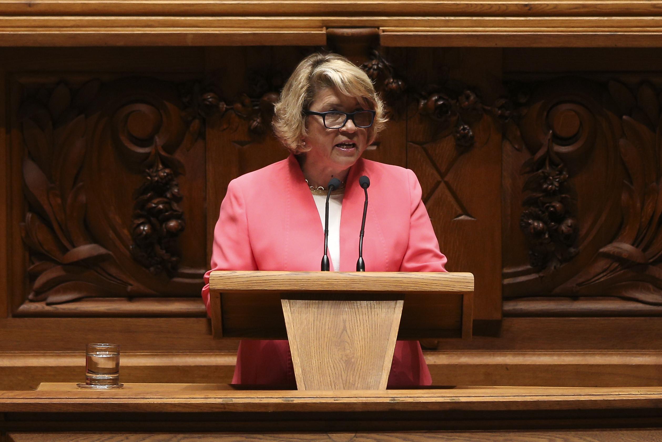 Ministra da Saúde governará com orçamento que não negociou.CDS preocupado