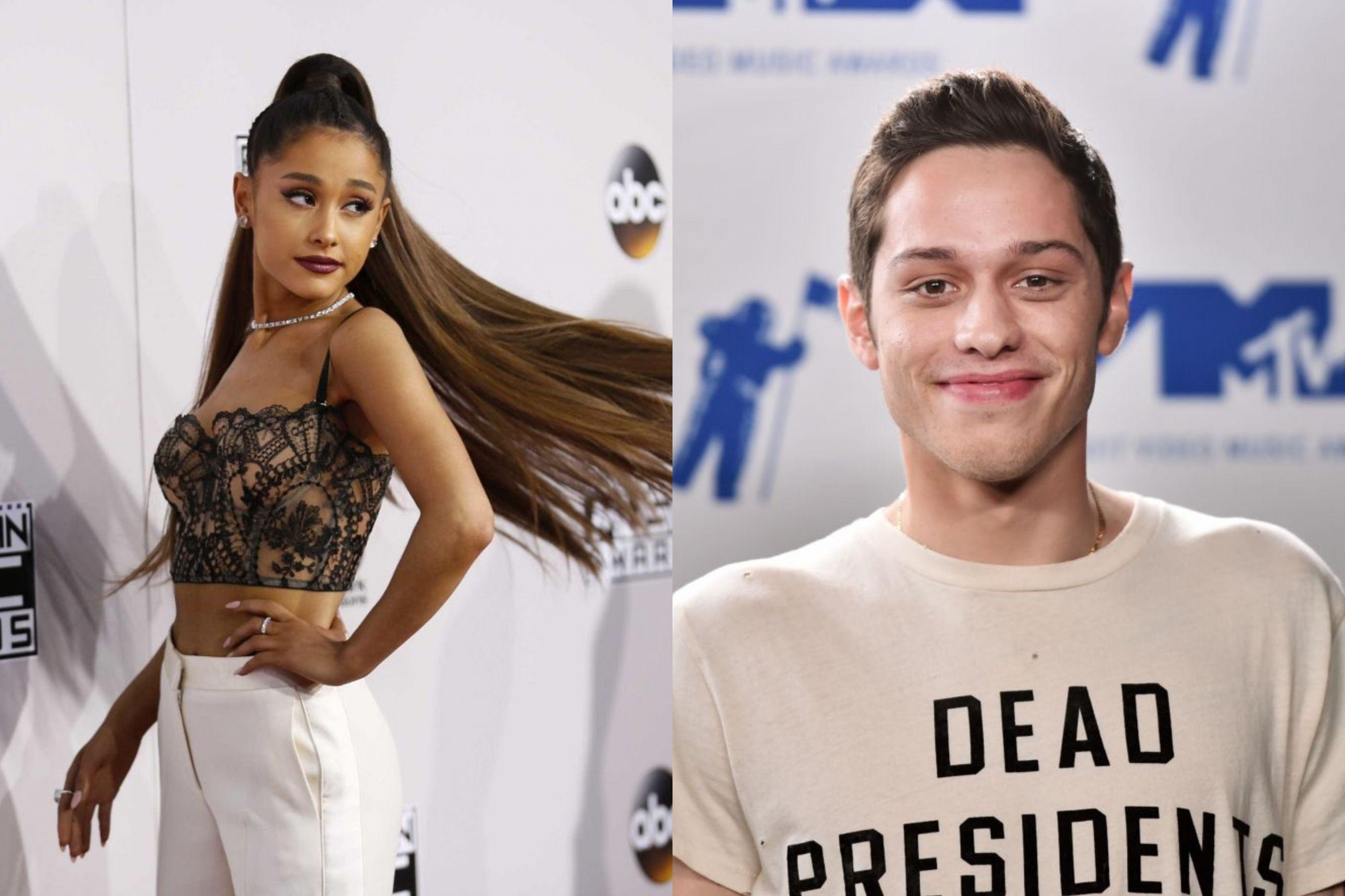 Ariana Grande modifica tatuagem feita para Pete Davidson