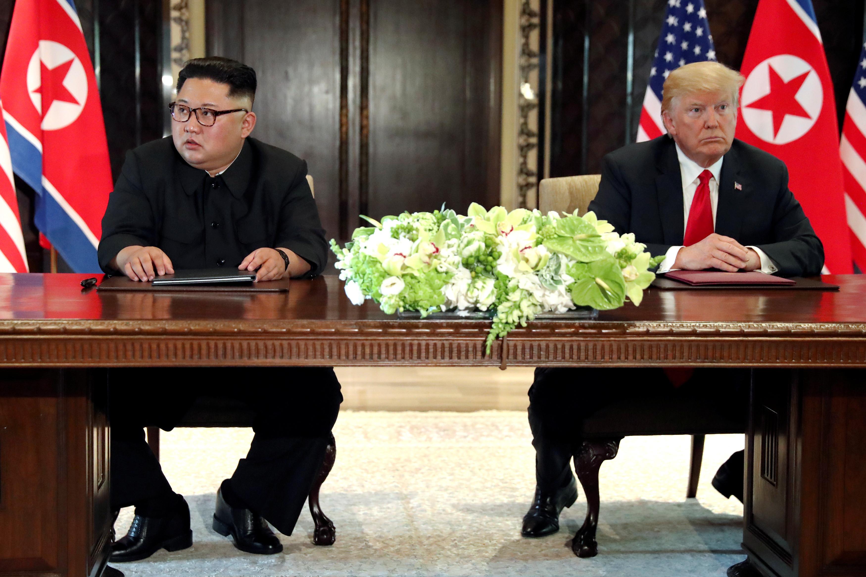 """""""Encontro do século"""" deu acordo vago e legitimidade que Kim procurava"""