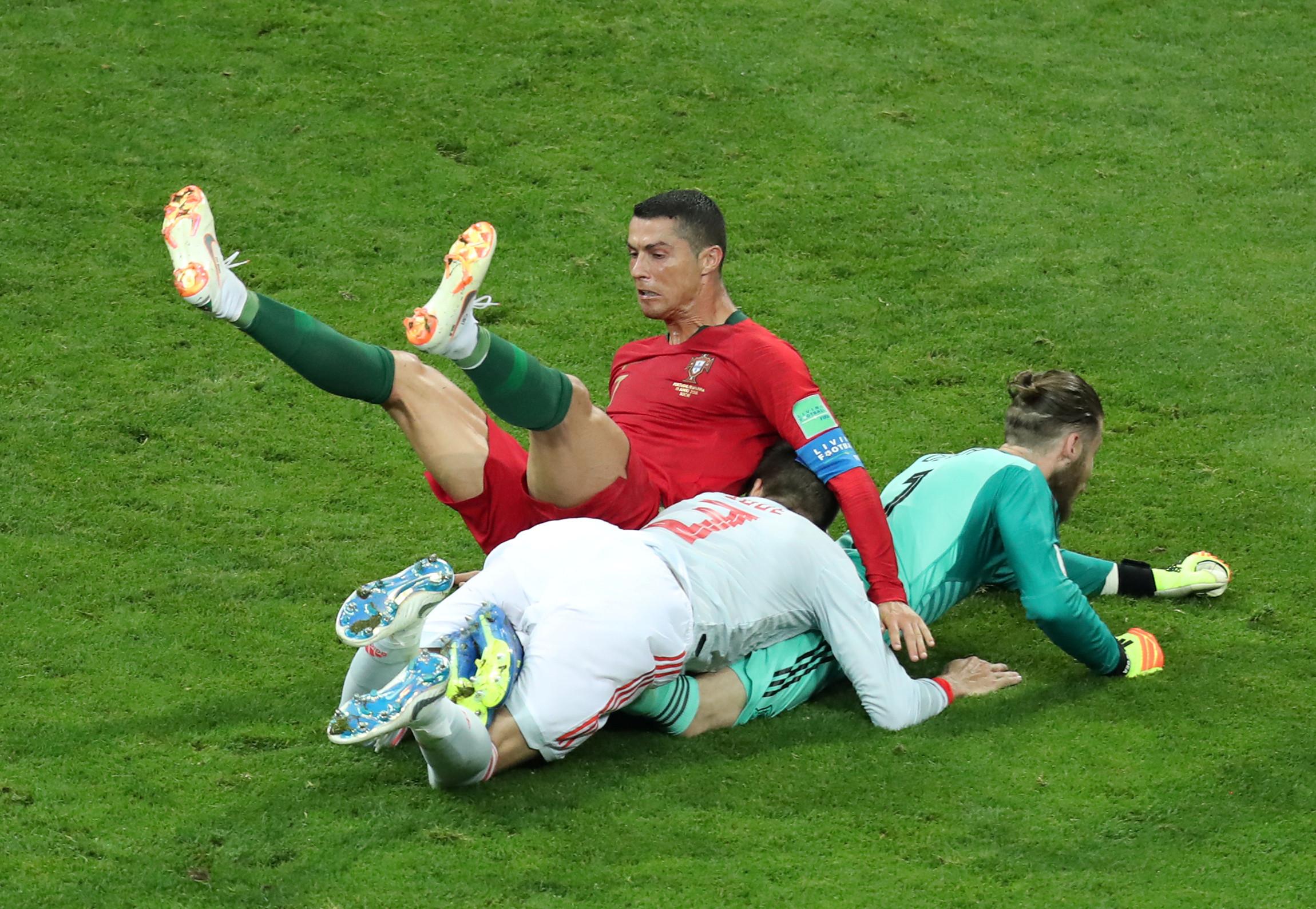 As imagens do Portugal-Espanha que não viu na televisão