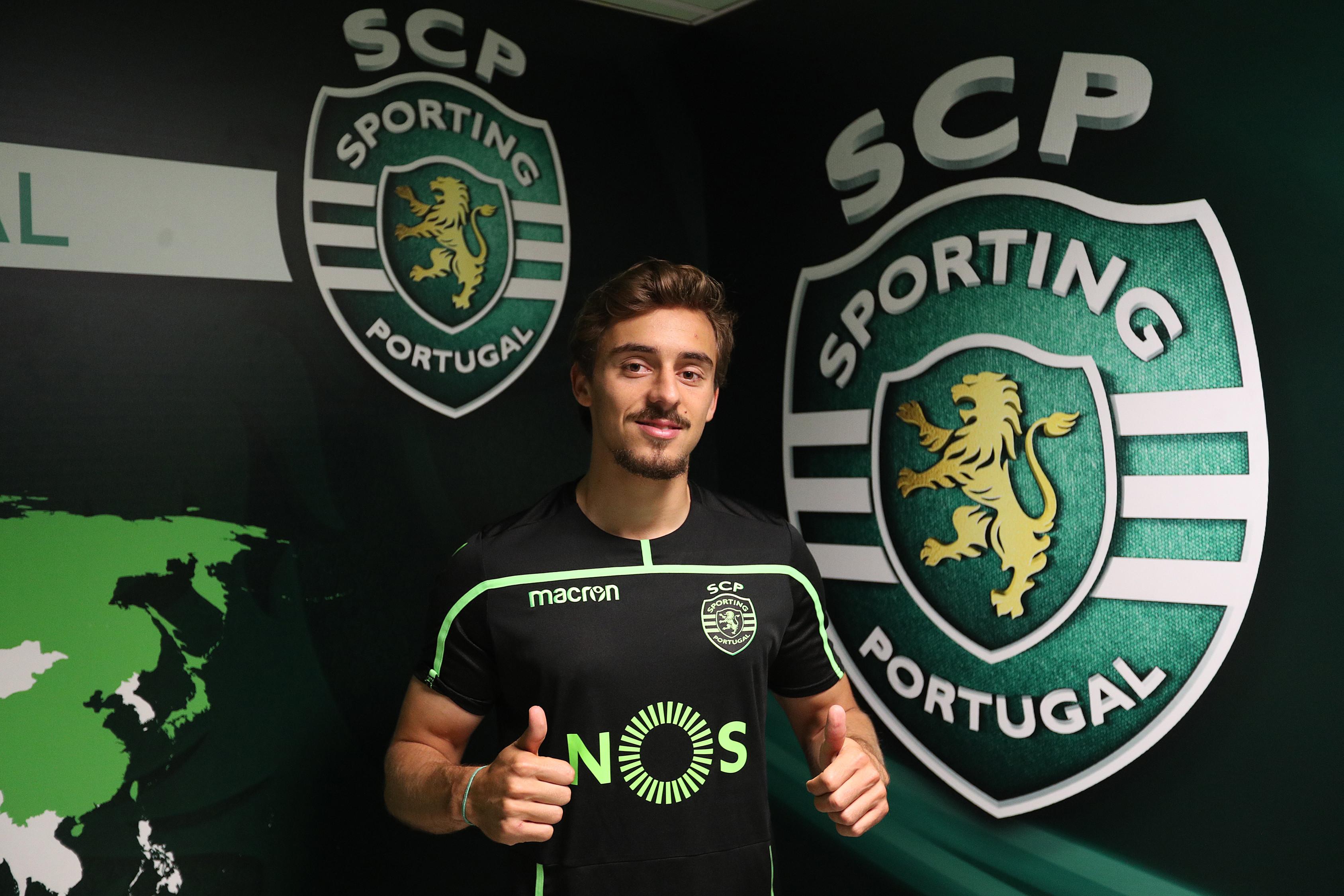 Oficial: Francisco Geraldes está de regresso ao Sporting