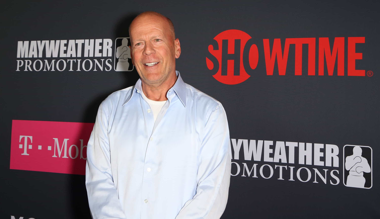 Filhas de Bruce Willis todas reunidas em foto rara