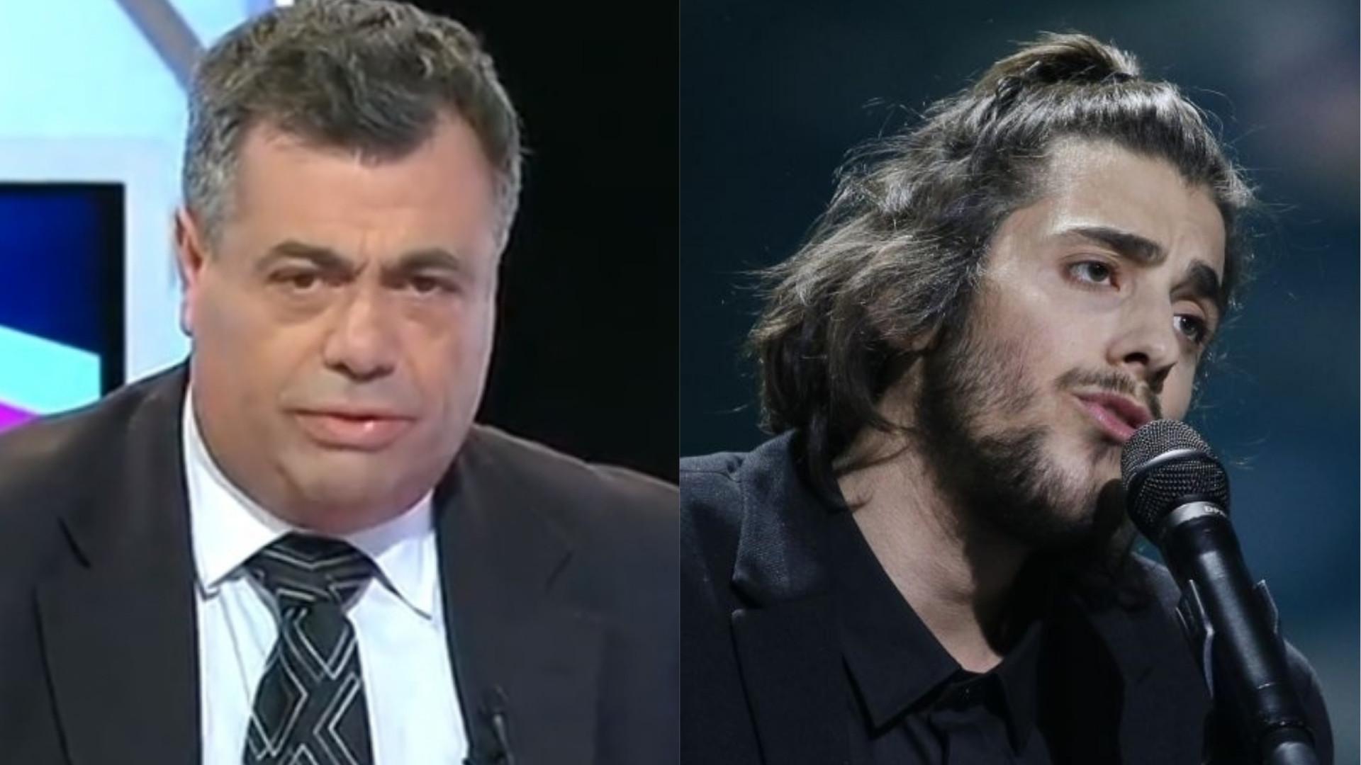 2c8807a1717 Quintino Aires furioso com Salvador Sobral