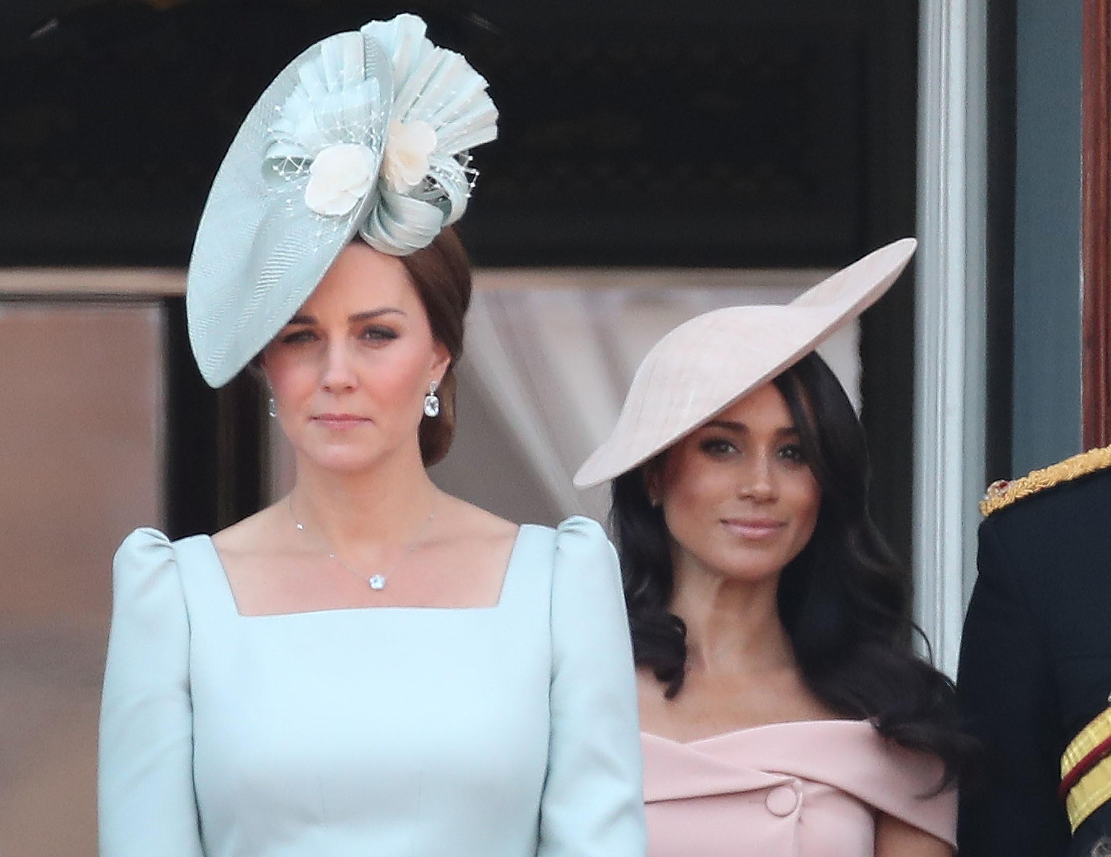 Após alegadas zangas, Kate Middleton fala sobre gravidez de Meghan Markle