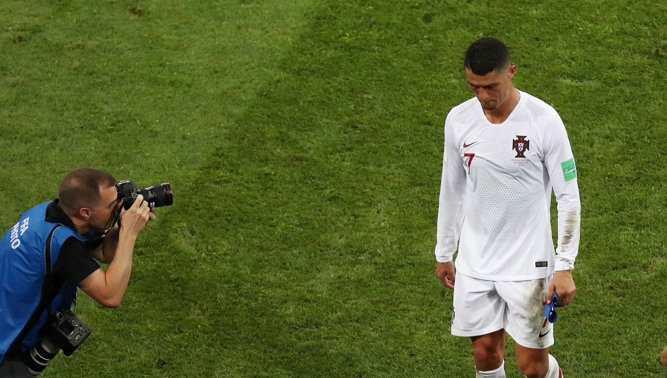 João Mário 'chama' Ronaldo para a final four