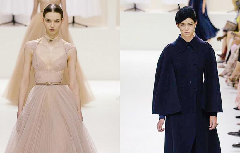 Portuguesas Maria Miguel e Maria Clara desfilam pela Dior no Dubai