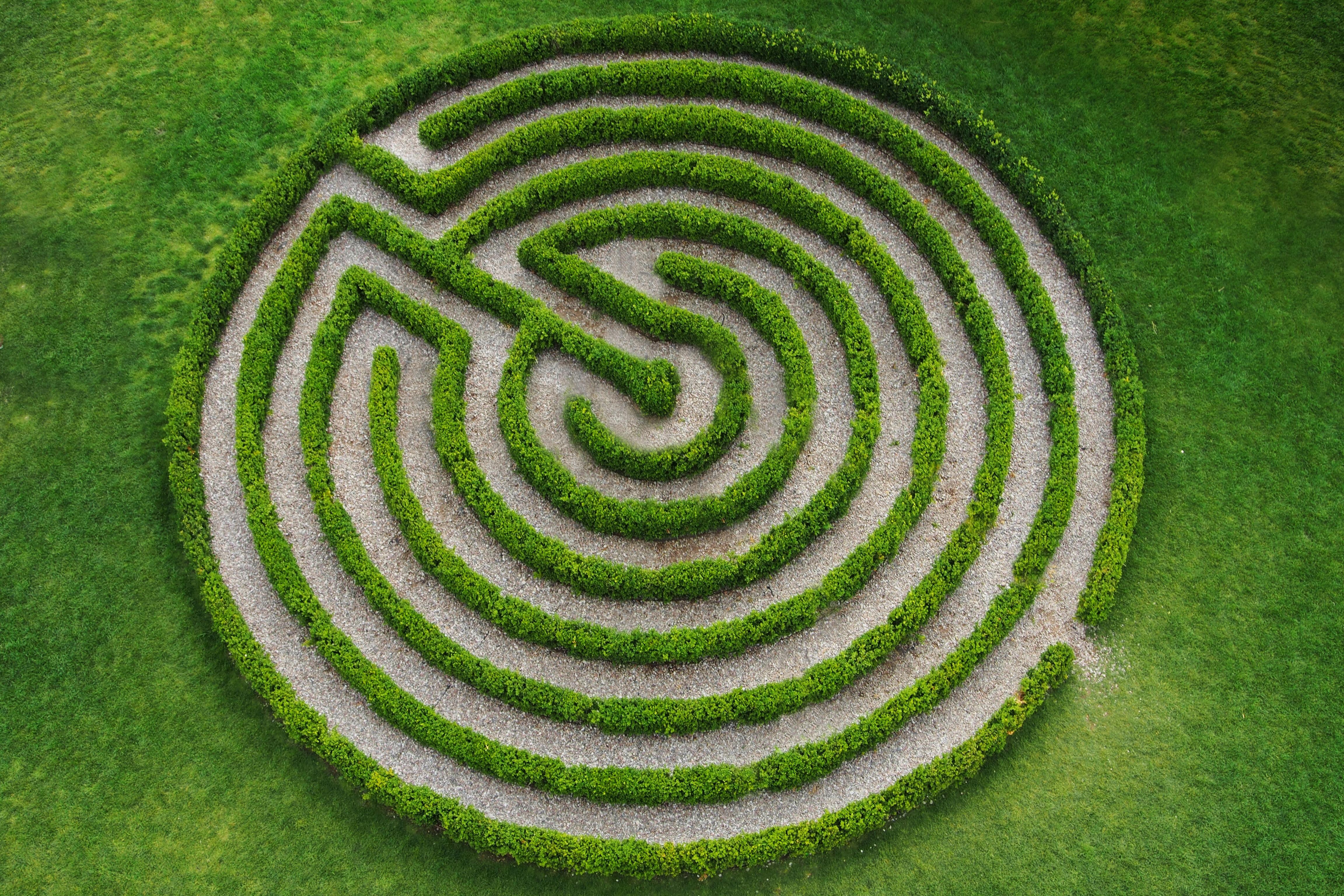 Perca-se nos mais belos labirintos do mundo
