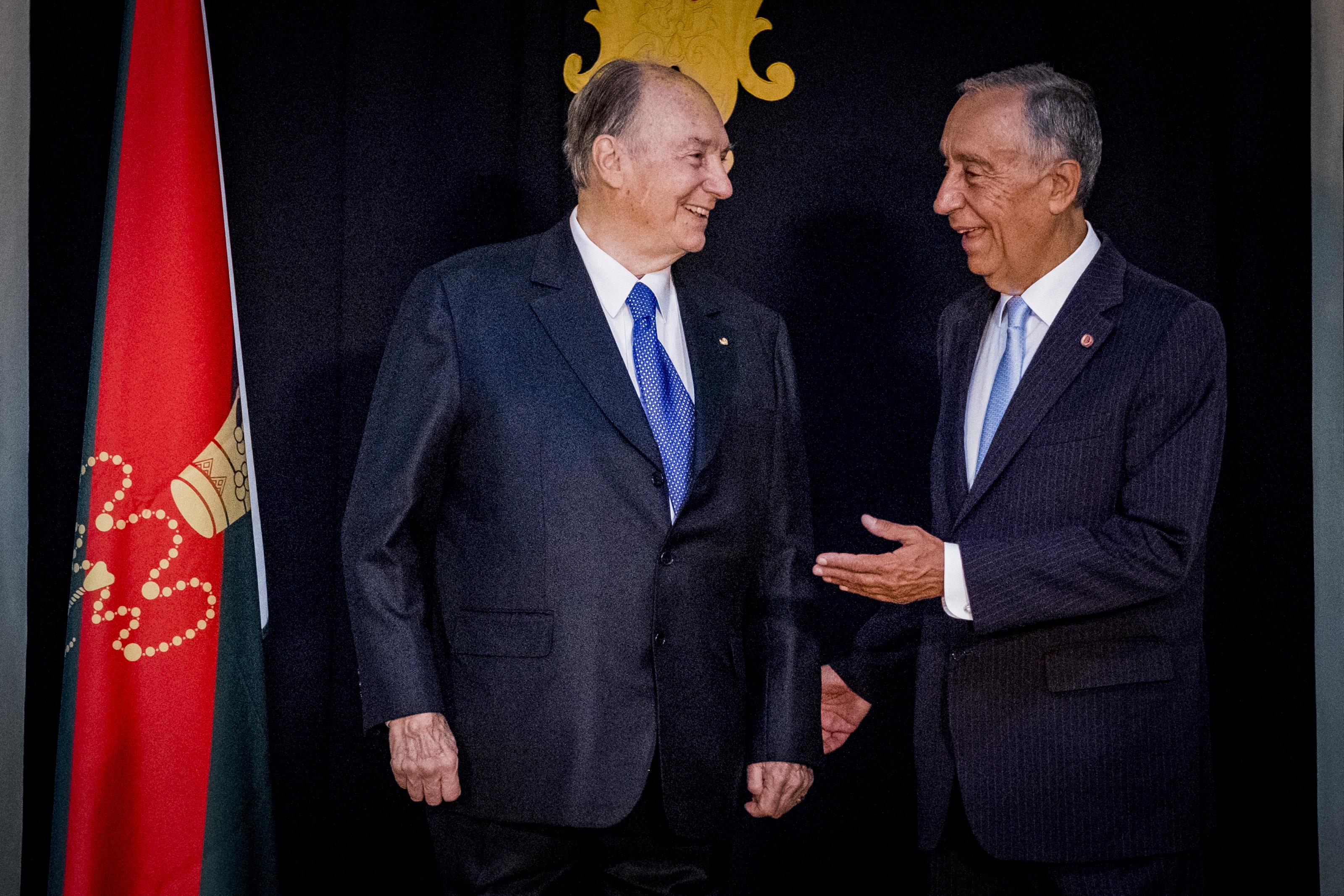 Portugal atribuiu nacionalidade portuguesa a Príncipe Aga Khan