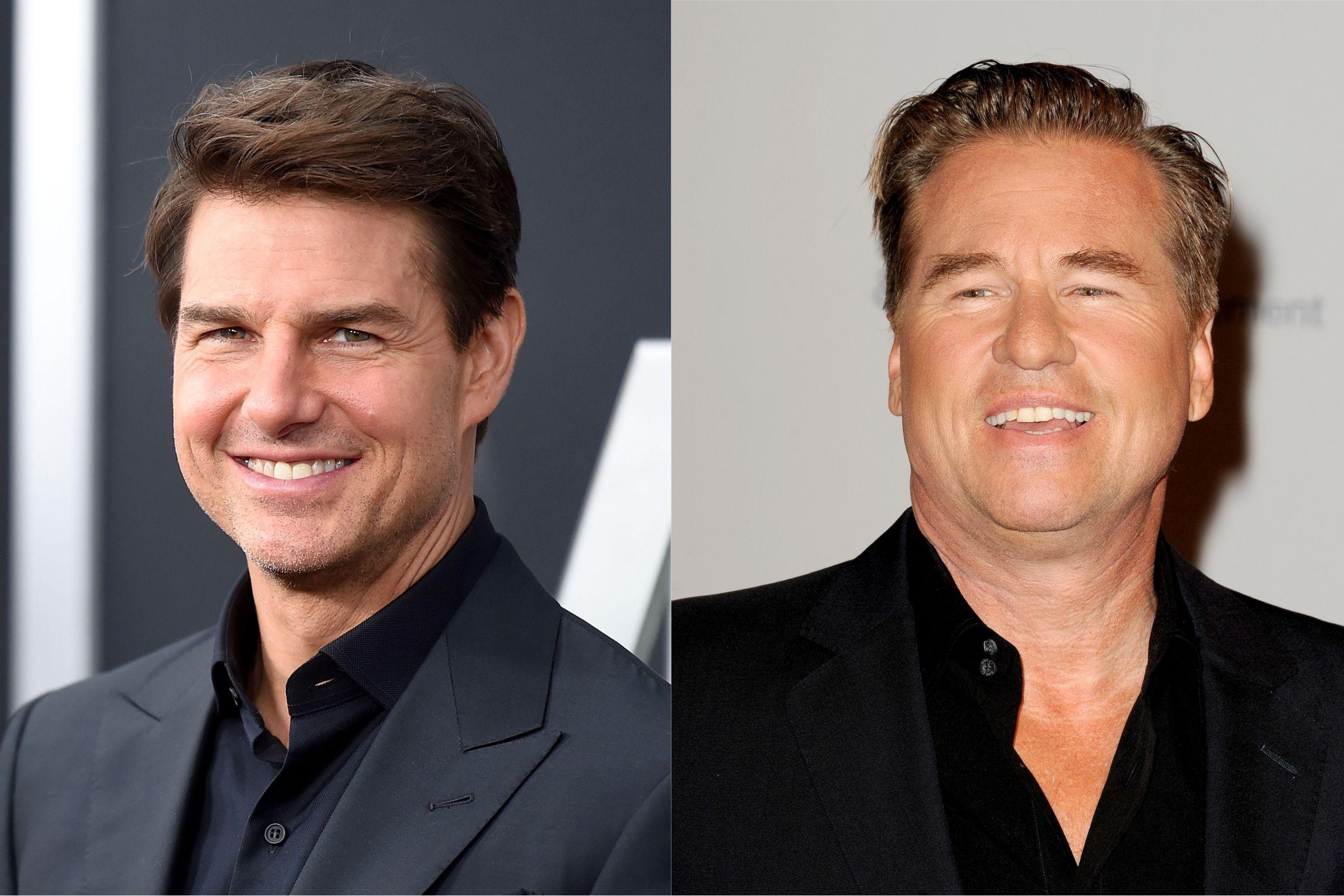 Cancro na garganta: Tom Cruise atualiza estado de saúde de Val Kilmer