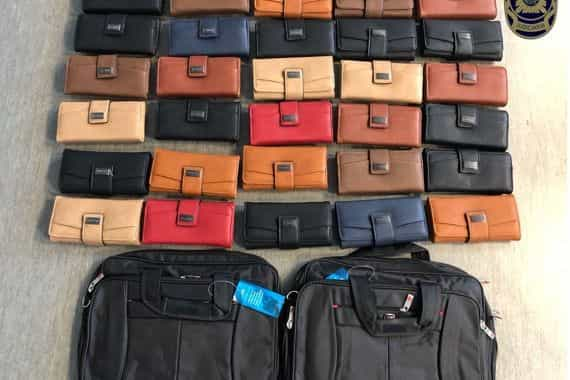 Lisboa: Detido no aeroporto trazia droga em 30 carteiras de senhora