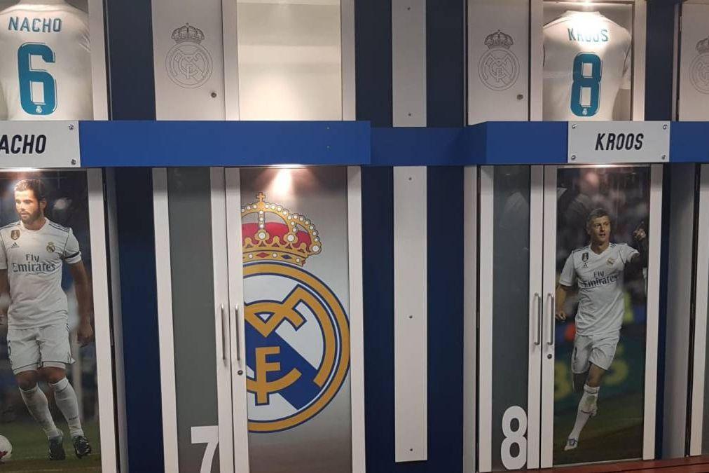Real Madrid começou a eliminar os vestígios de Ronaldo