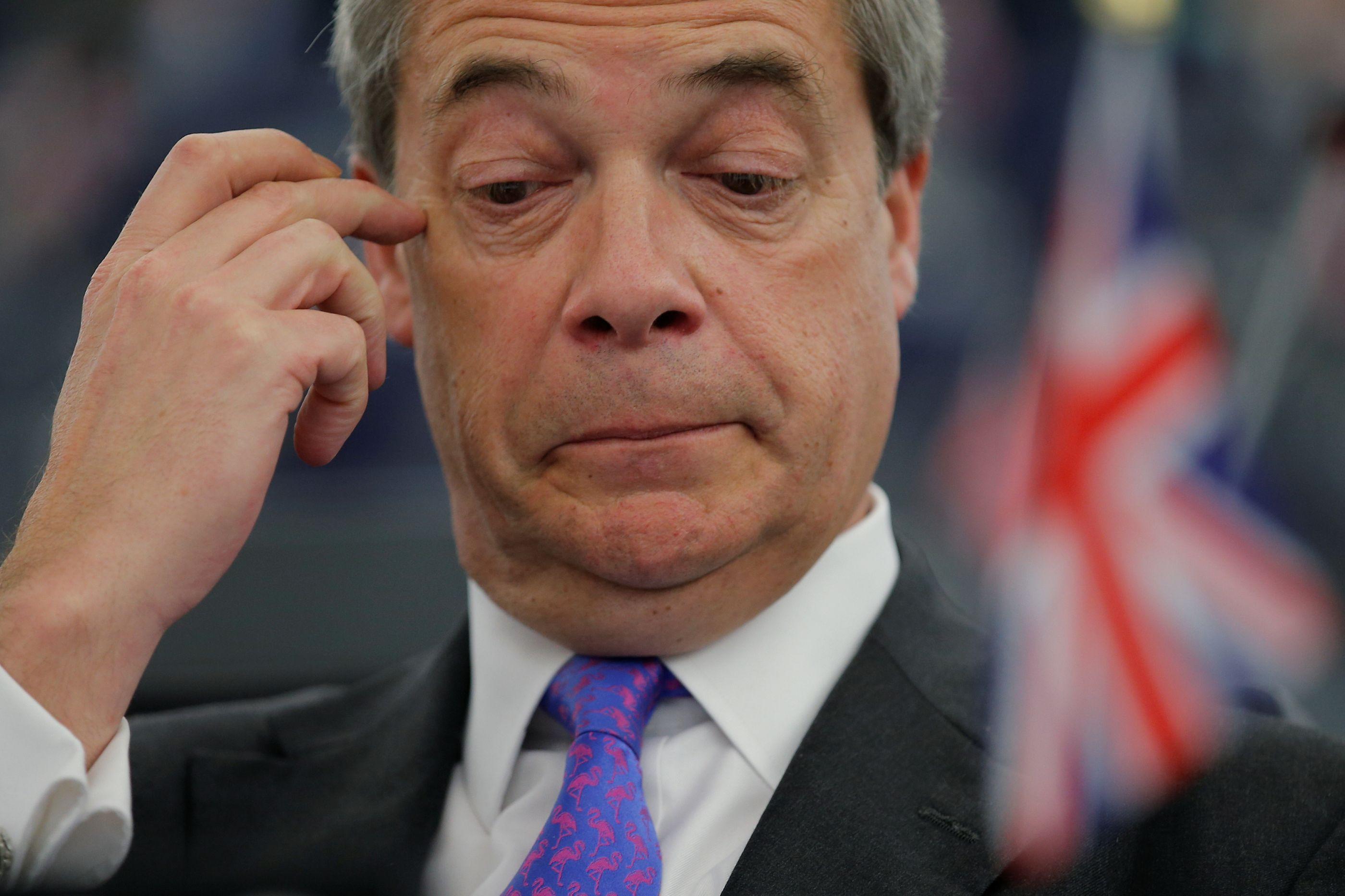 """Farage lança o Partido do Brexit e promete uma """"revolução democrática"""""""