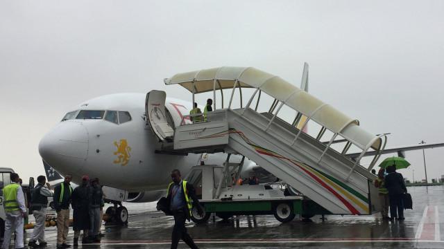"Etiópia: Piloto reportou ""dificuldades"" e pediu para regressar"