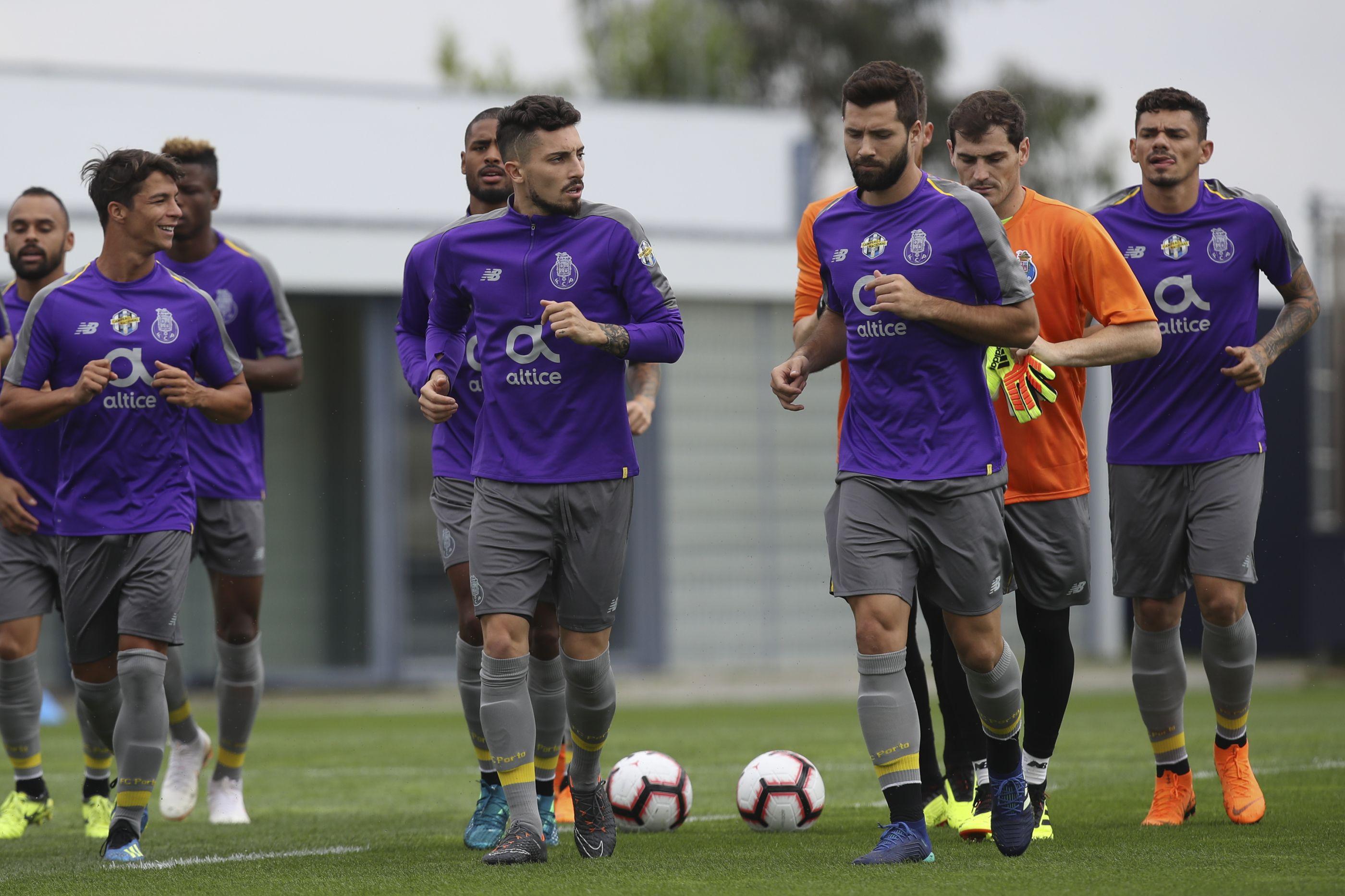 Plantel do FC Porto foi sujeito a controlo anti-doping surpresa