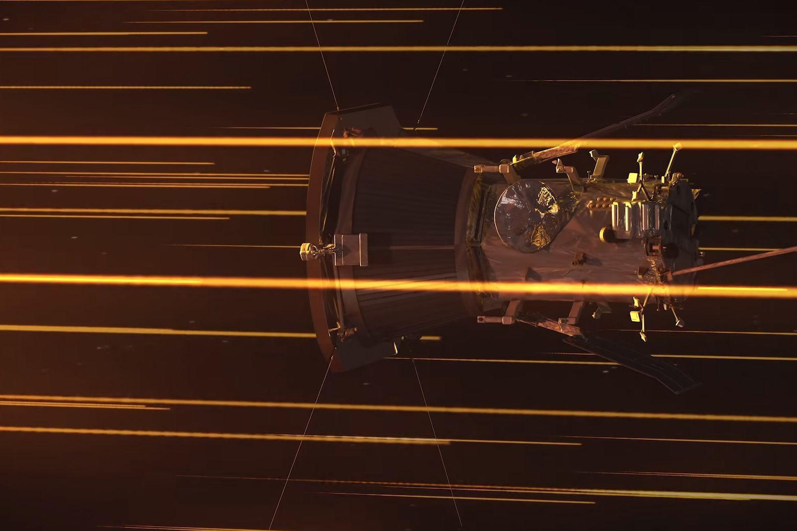 Sonda Parker está mais próxima do Sol do que alguma nave já esteve