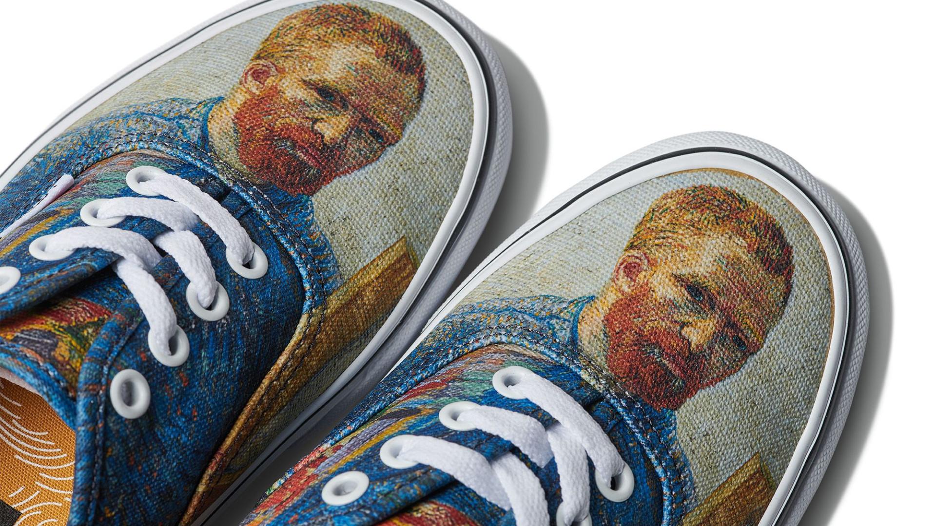 369bdc5dc9223 Vans junta-se ao Museu Van Gogh para colaboração exclusiva