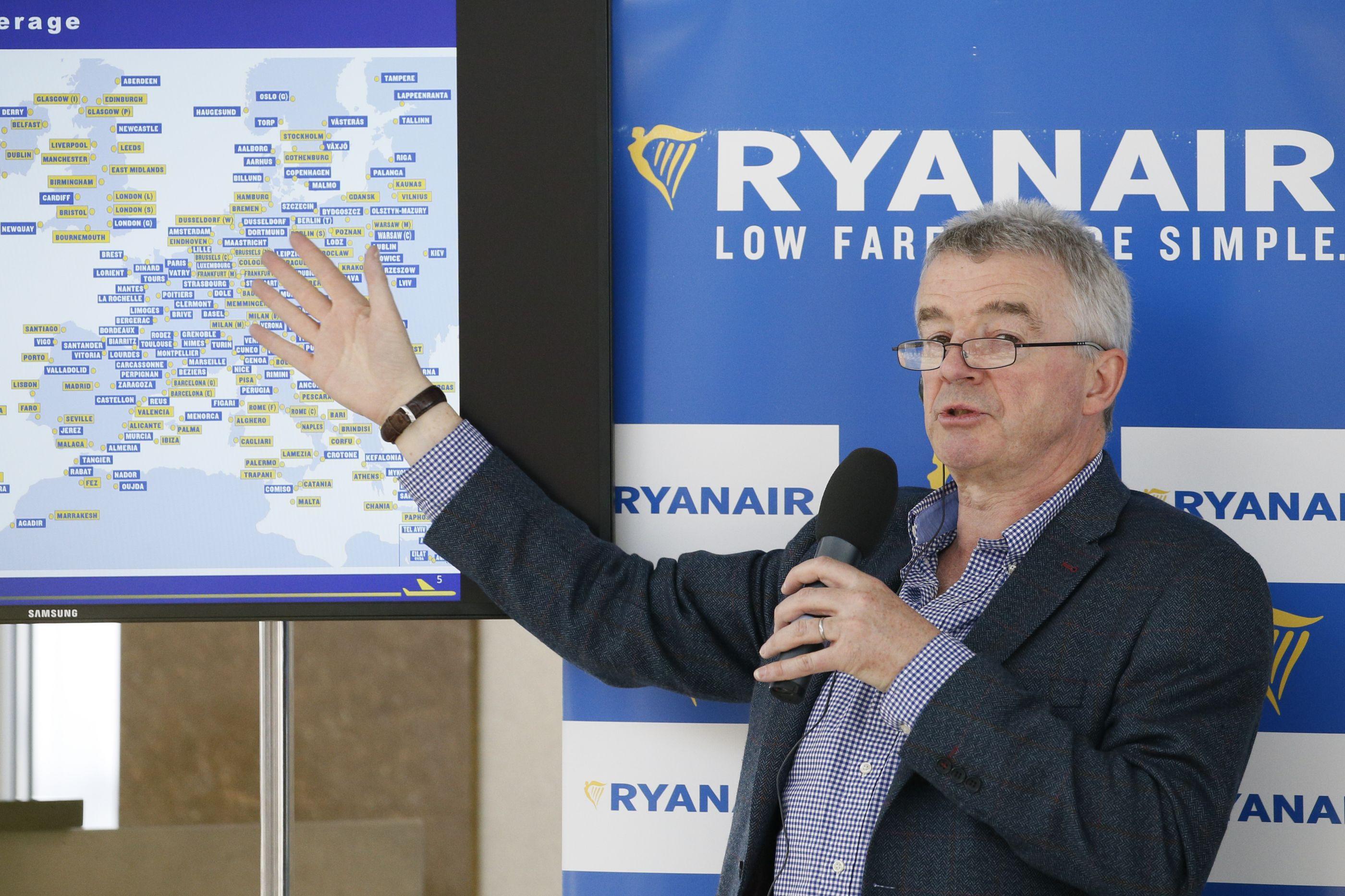 """Recomendações de Bruxelas à Ryanair """"não têm sentido"""". São """"politiquices"""""""