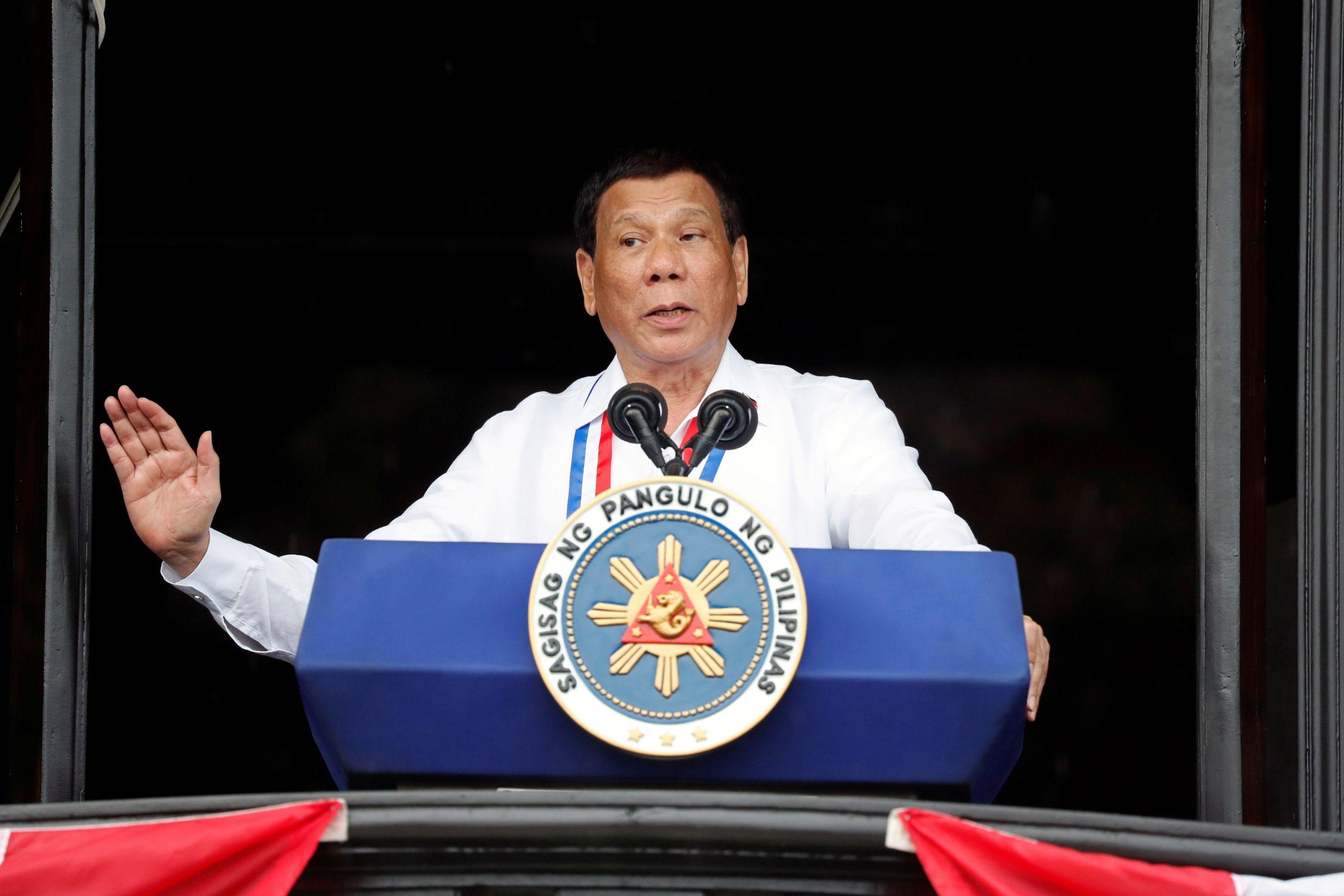 Duterte admitiu ter abusado sexualmente de mulher quando era adolescente