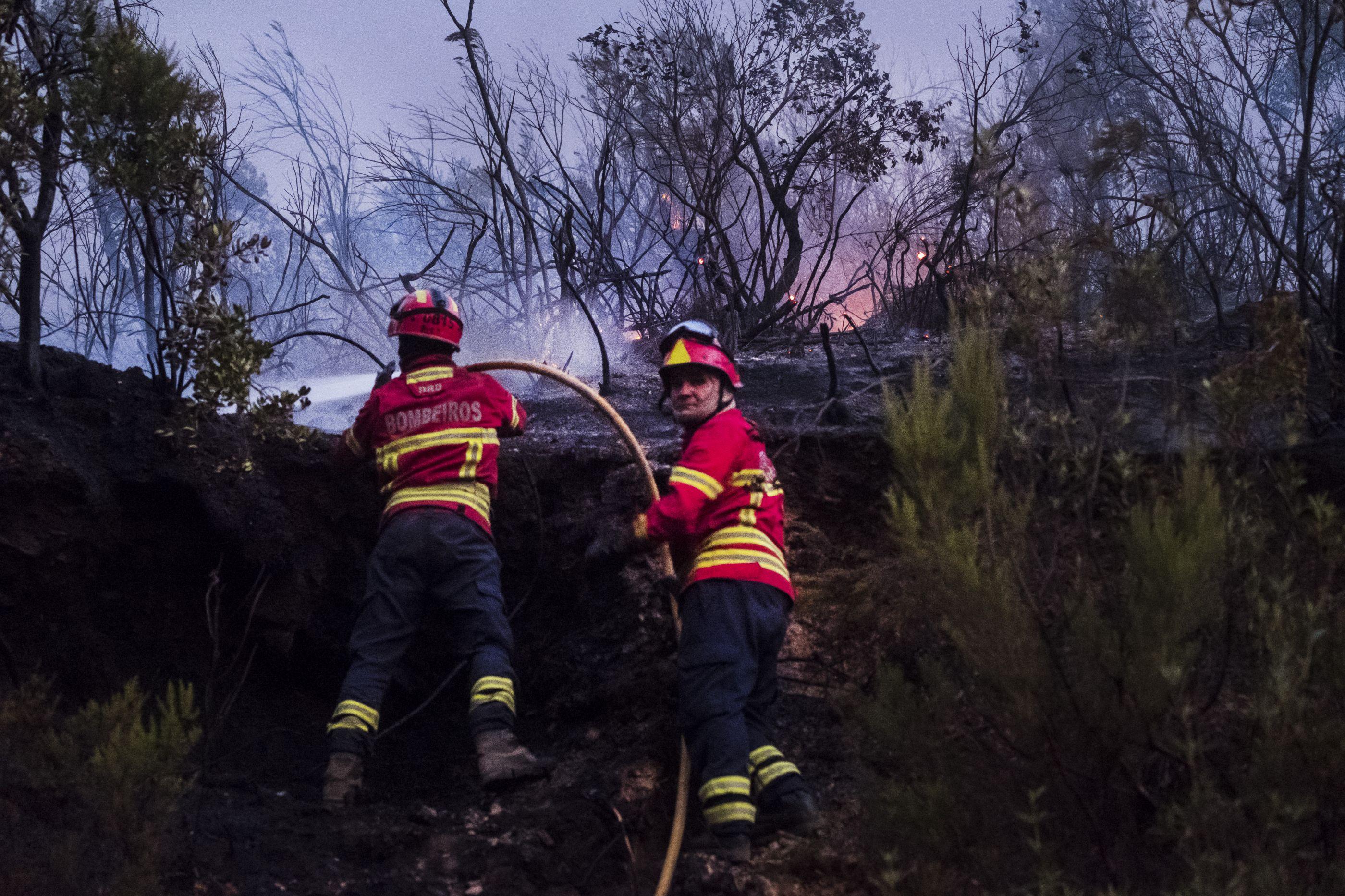 Perde o controlo a queimada e provoca fogo florestal em Paços de Ferreira
