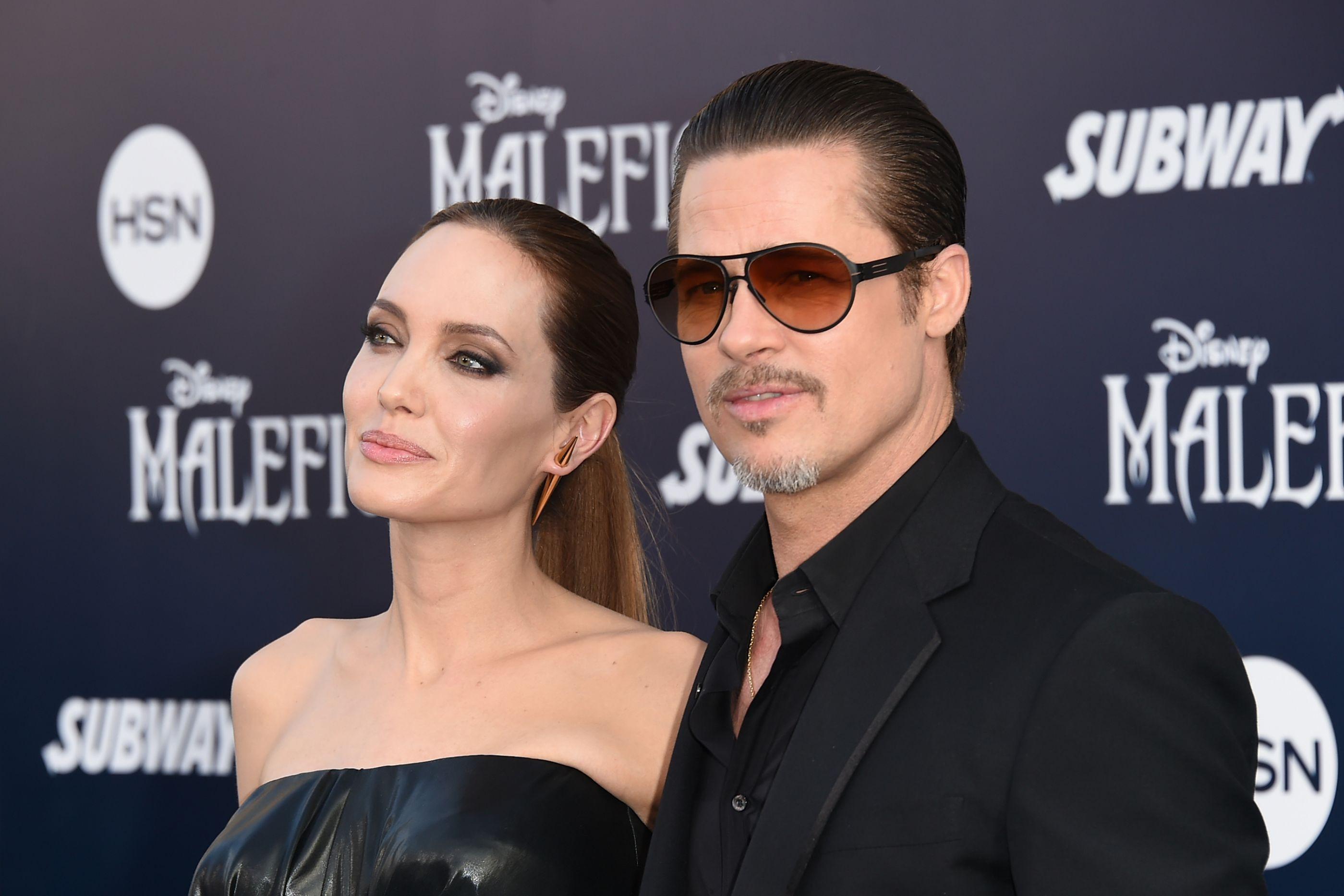 Brad Pitt e Angelina Jolie são quase oficialmente solteiros
