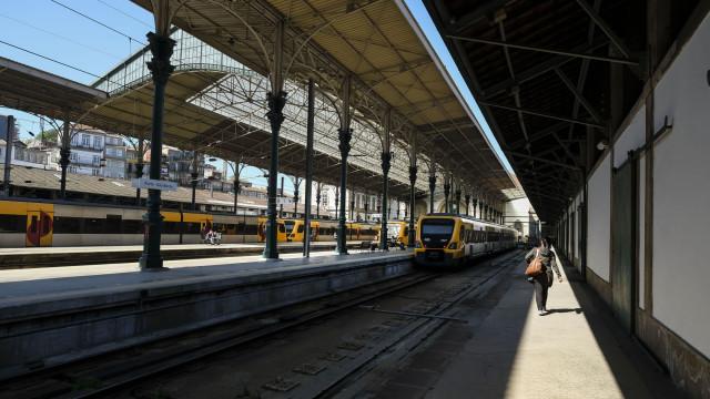 Só 37% dos comboios circularam até ao meio dia, longo curso sem viagens