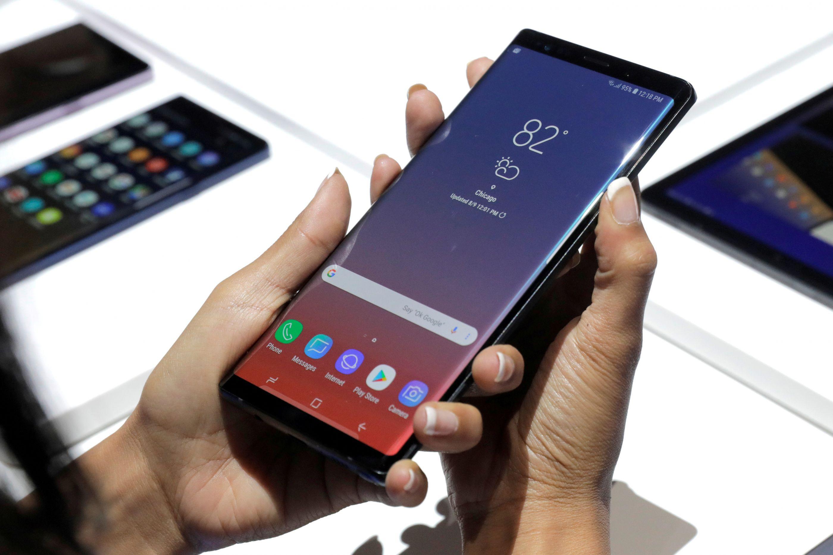 Topos de gama da Samsung receberão novas cores