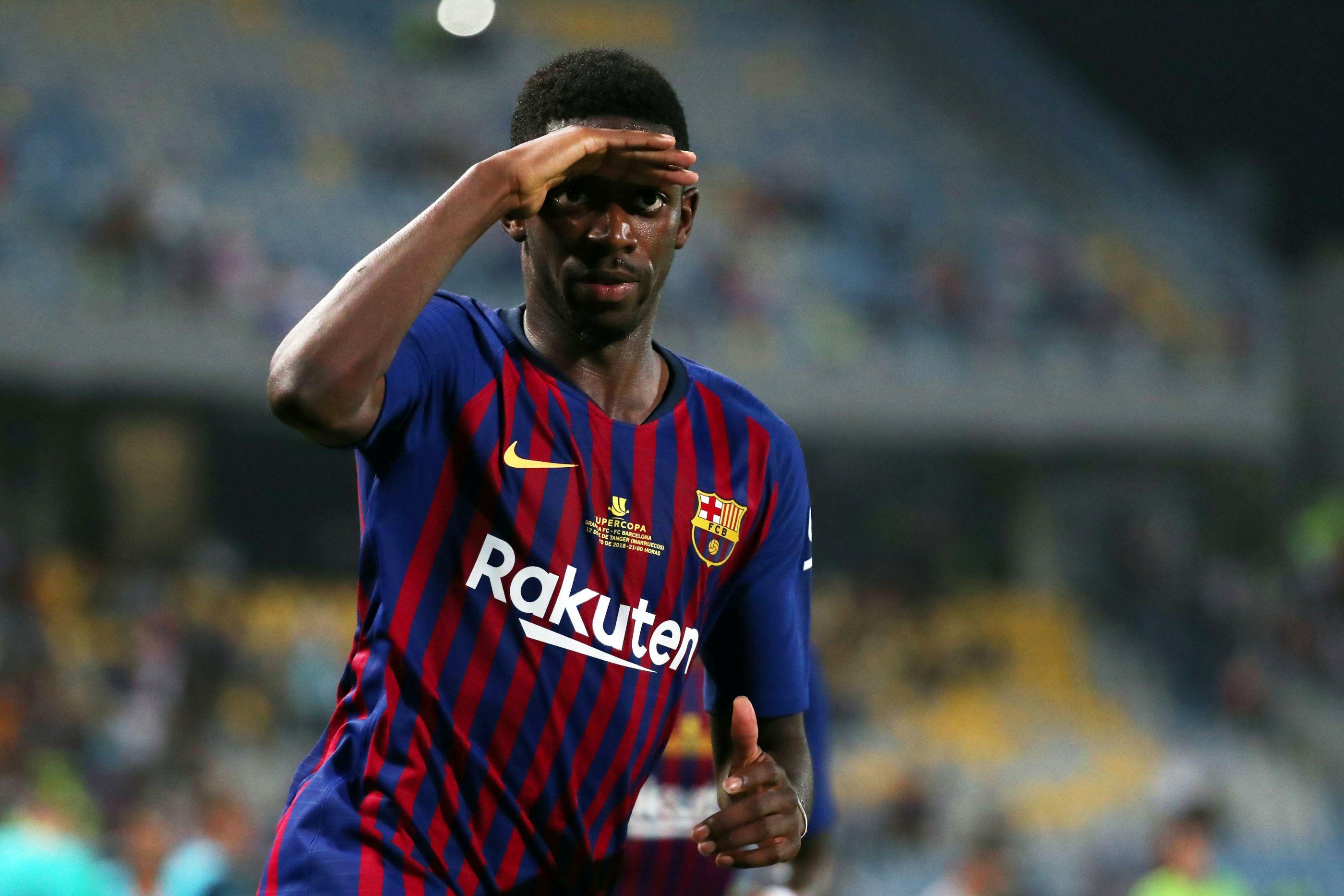 """Dembélé 'dispara' no Twitter: """"Tu não sabes de nada"""""""