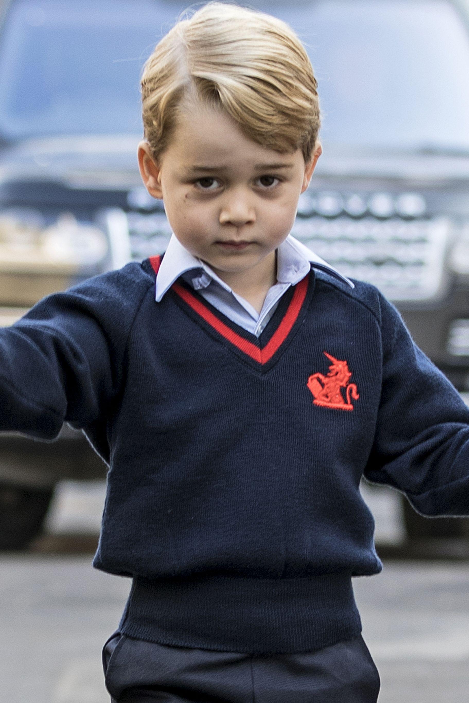 Príncipe George vai deixar de ter autorização para viajar com os pais
