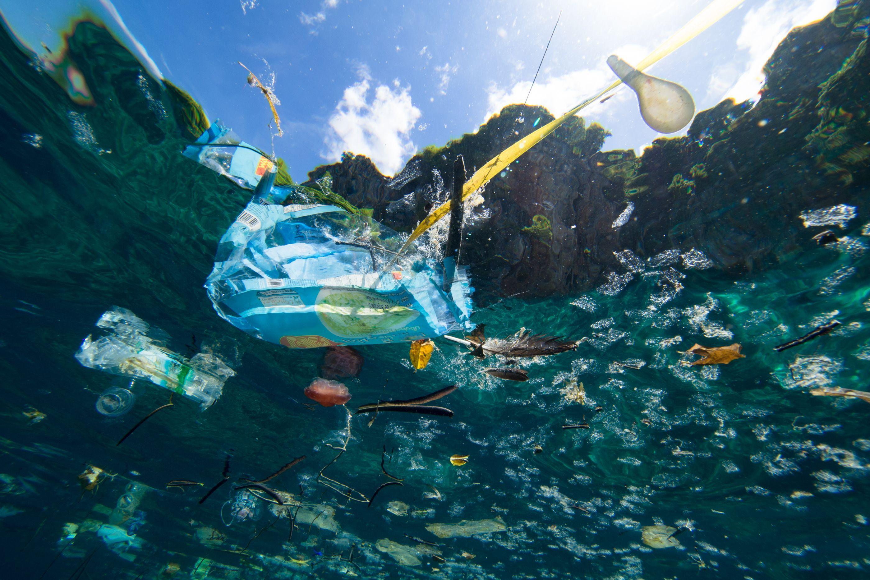 """""""Mais tarde ou mais cedo, o destino do plástico é o fundo do mar"""""""