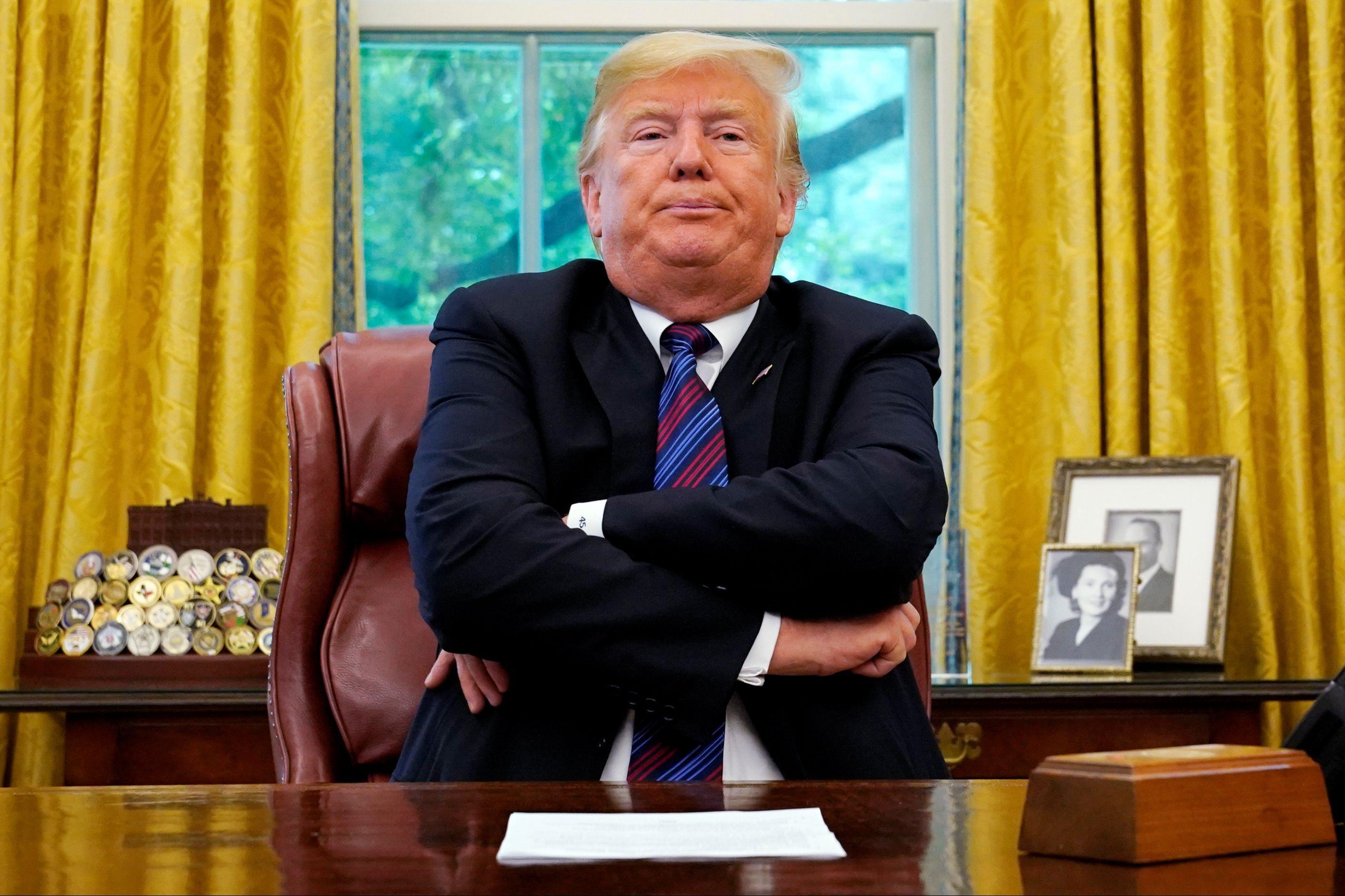 """""""Bye-bye"""". Trump abandonou reunião para resolver 'shutdown'"""