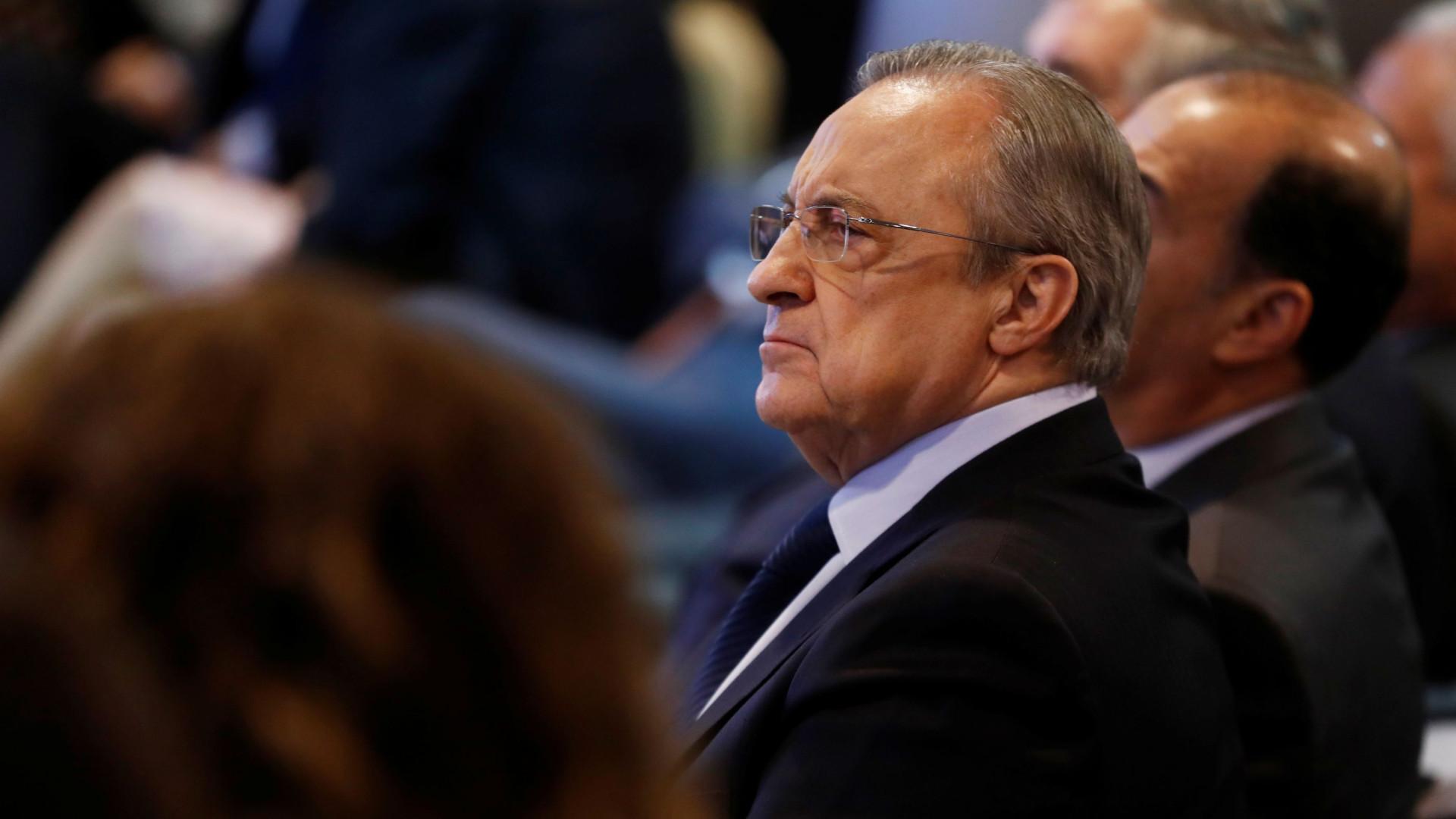 """Espanhóis revelam a """"galáctica lista de compras"""" do Real Madrid"""