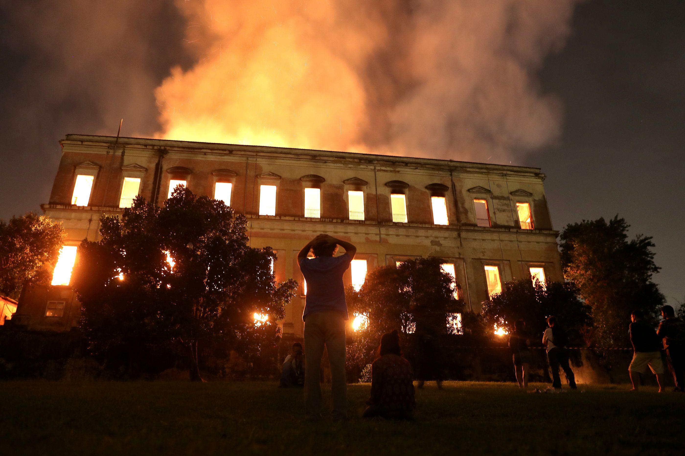 Revelada causa do incêndio que destruiu o Museu Nacional brasileiro