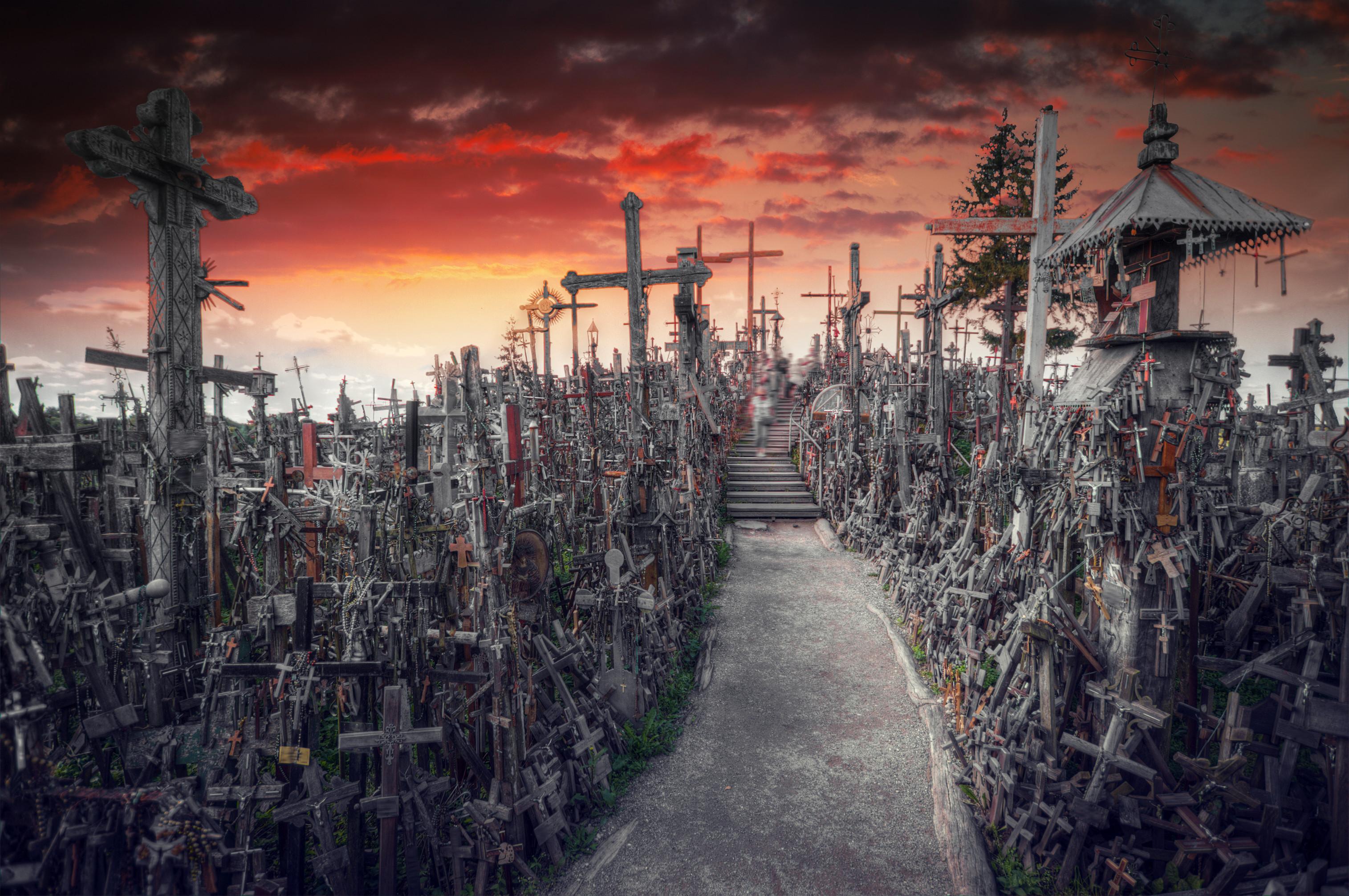 Colina das Cruzes, um dos locais mais sinistros do planeta