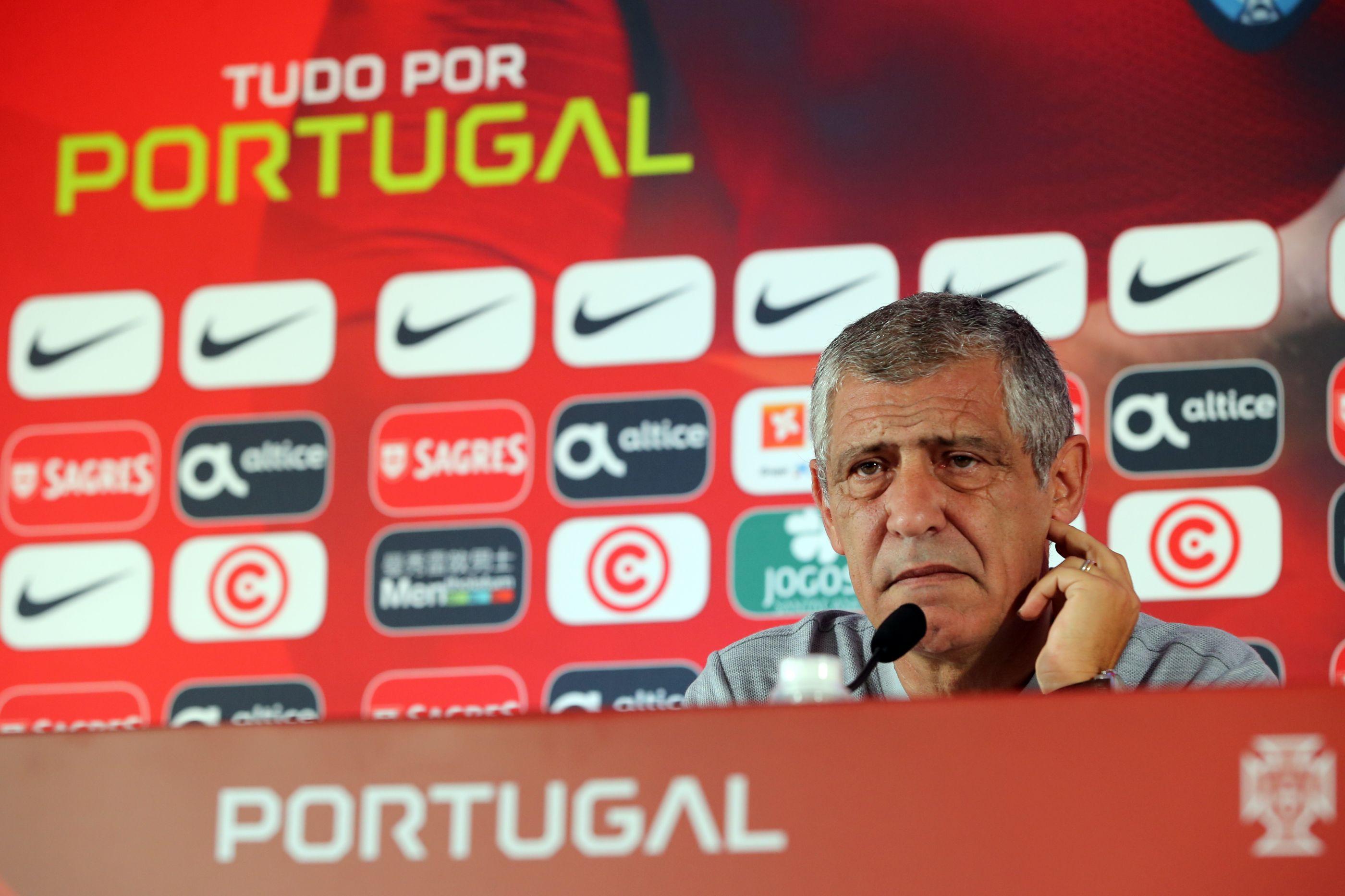 Fernando Santos: A ausência de Ronaldo e o regresso de Éder