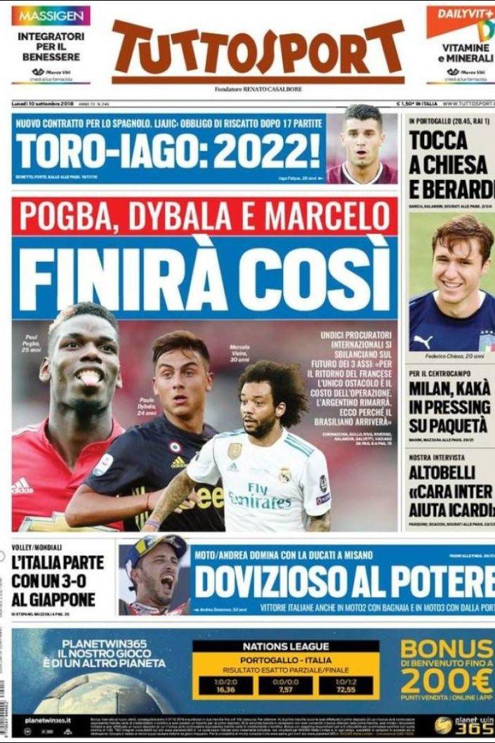 Internacional: No meio das seleções, há um louco plano da Juventus