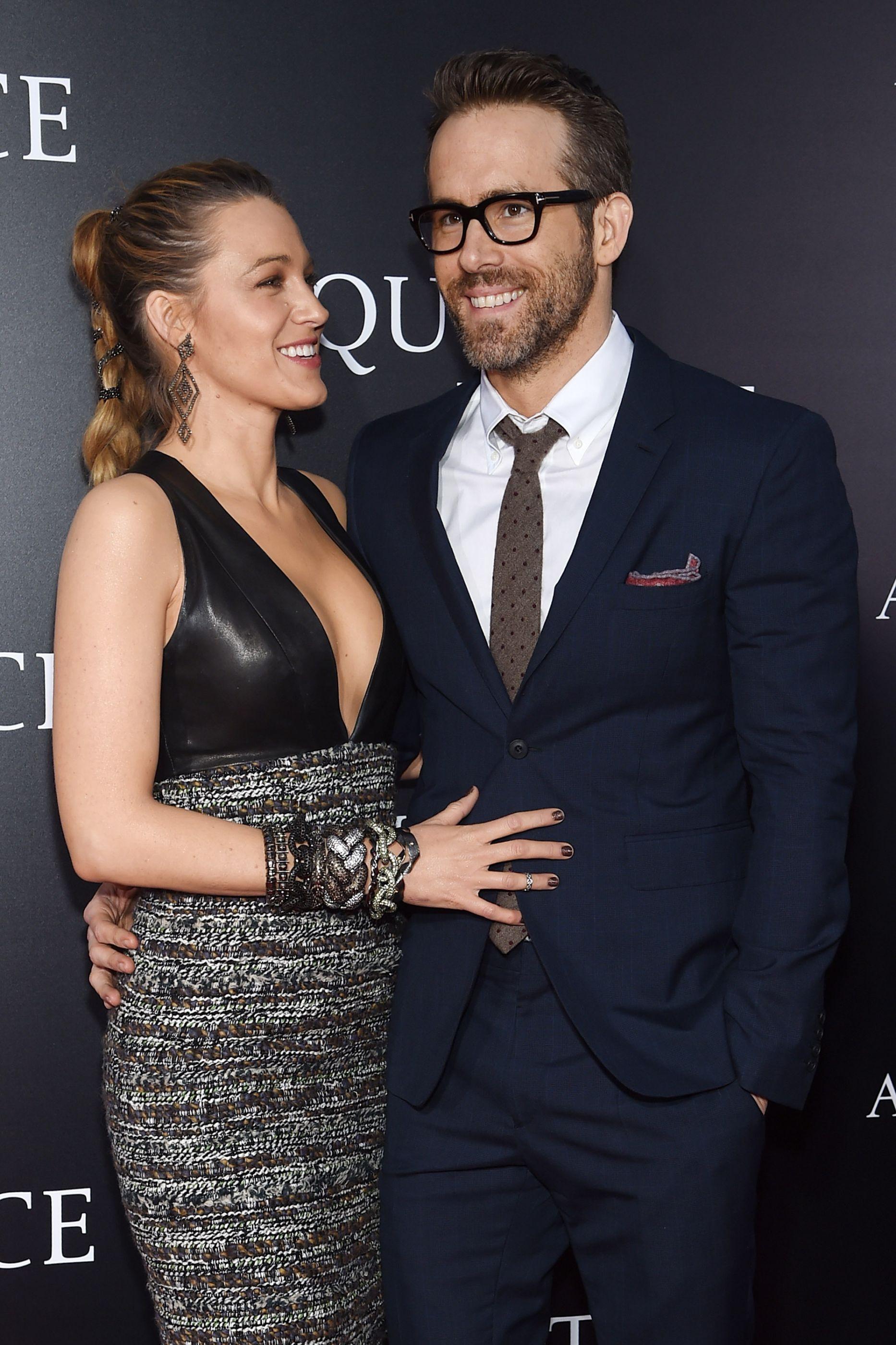 Blake Lively e Ryan Reynolds completaram seis anos de casamento