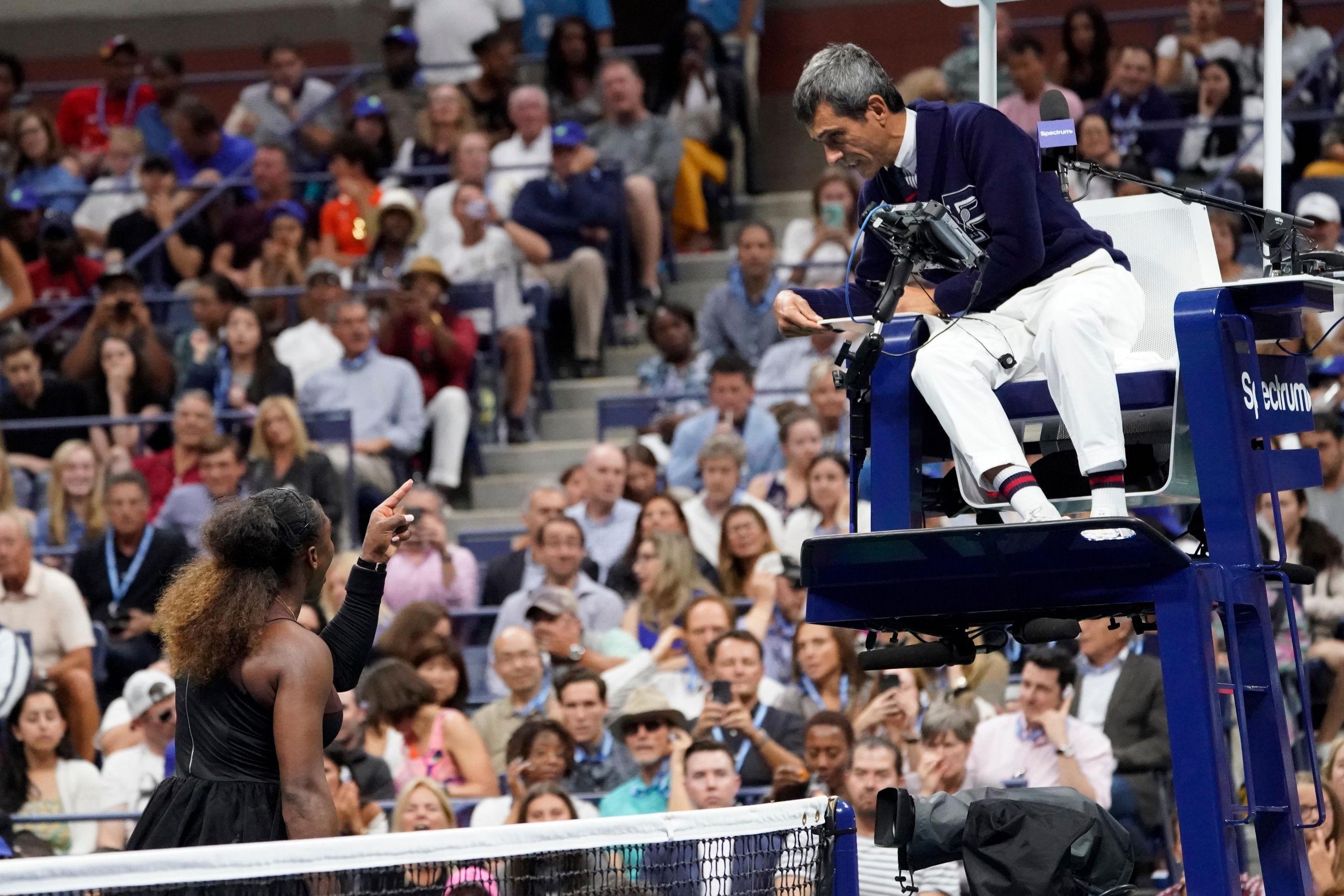 Sete meses depois Serena Williams arrepende-se do que fez a Carlos Ramos