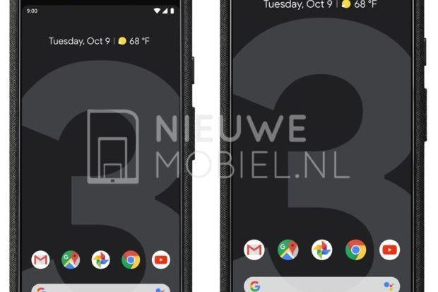 Imagens mostram os dois Pixel 3 lado a lado
