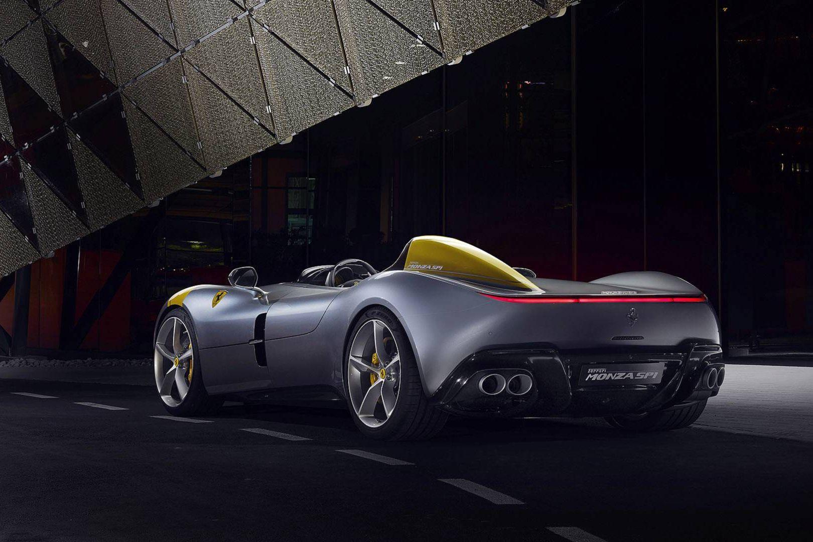 Oficial: Ferrari divulga imagens do Monza SP1 e SP2
