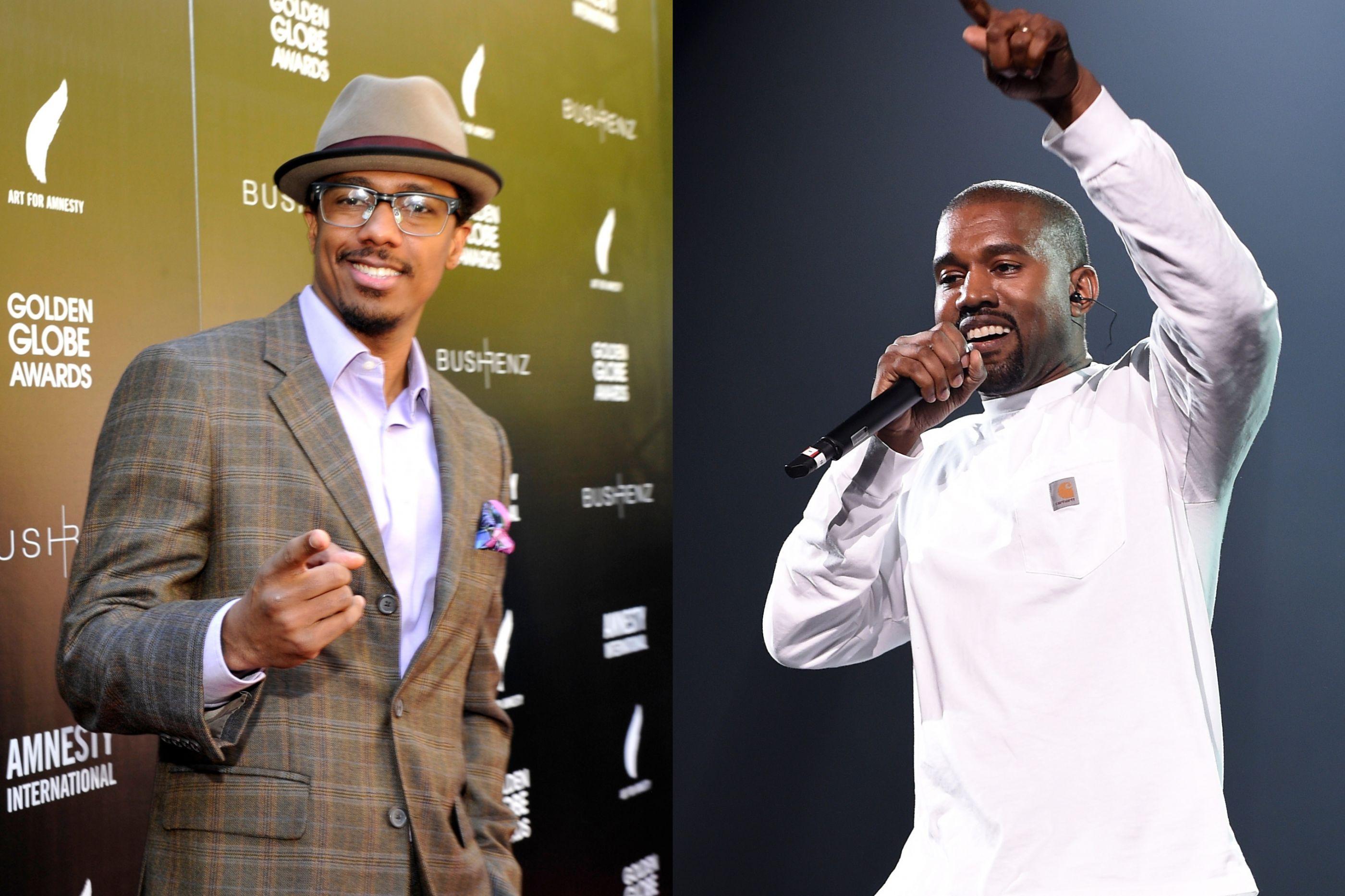 Nick Cannon responde a provocações de Kanye West