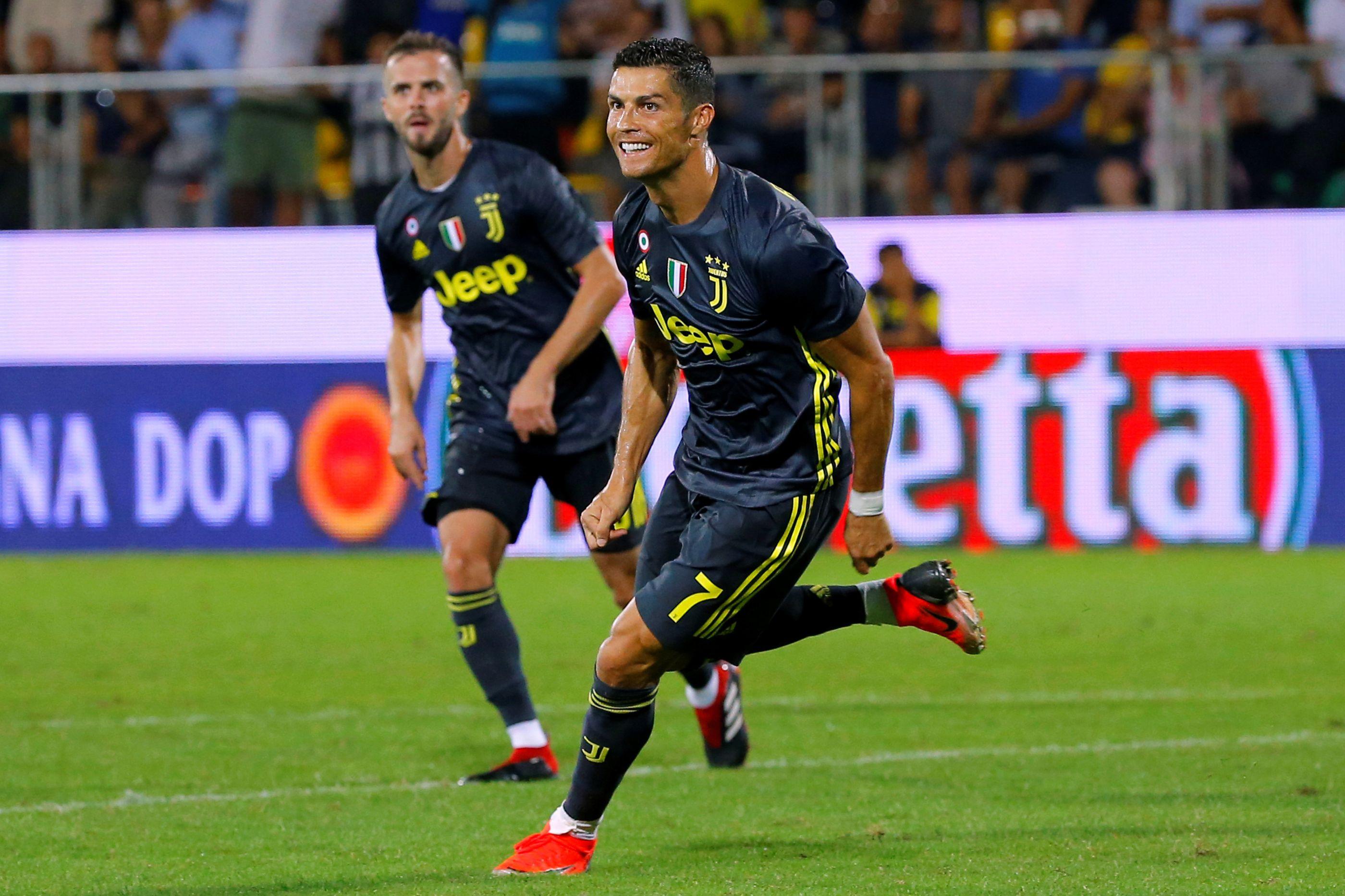 Cristiano Ronaldo determinante na vitória da Juventus