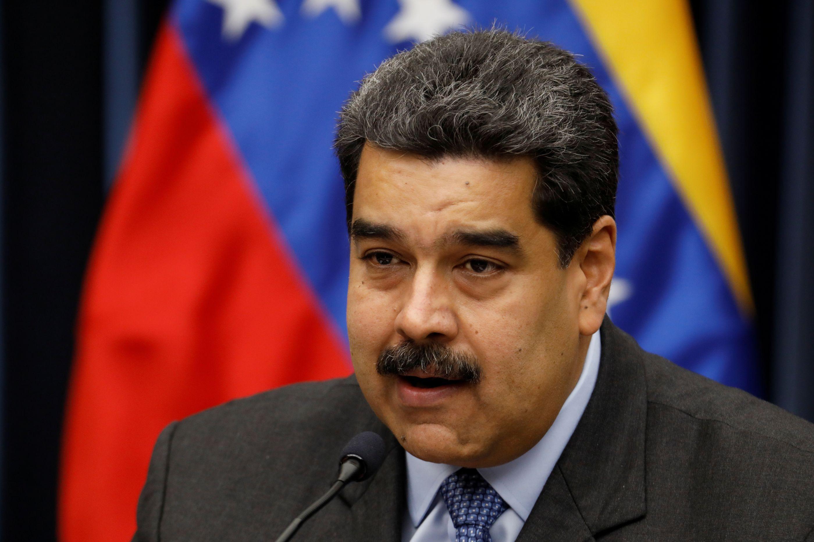 """Maduro disposto a negociar """"em prol da paz e do futuro da Venezuela"""""""